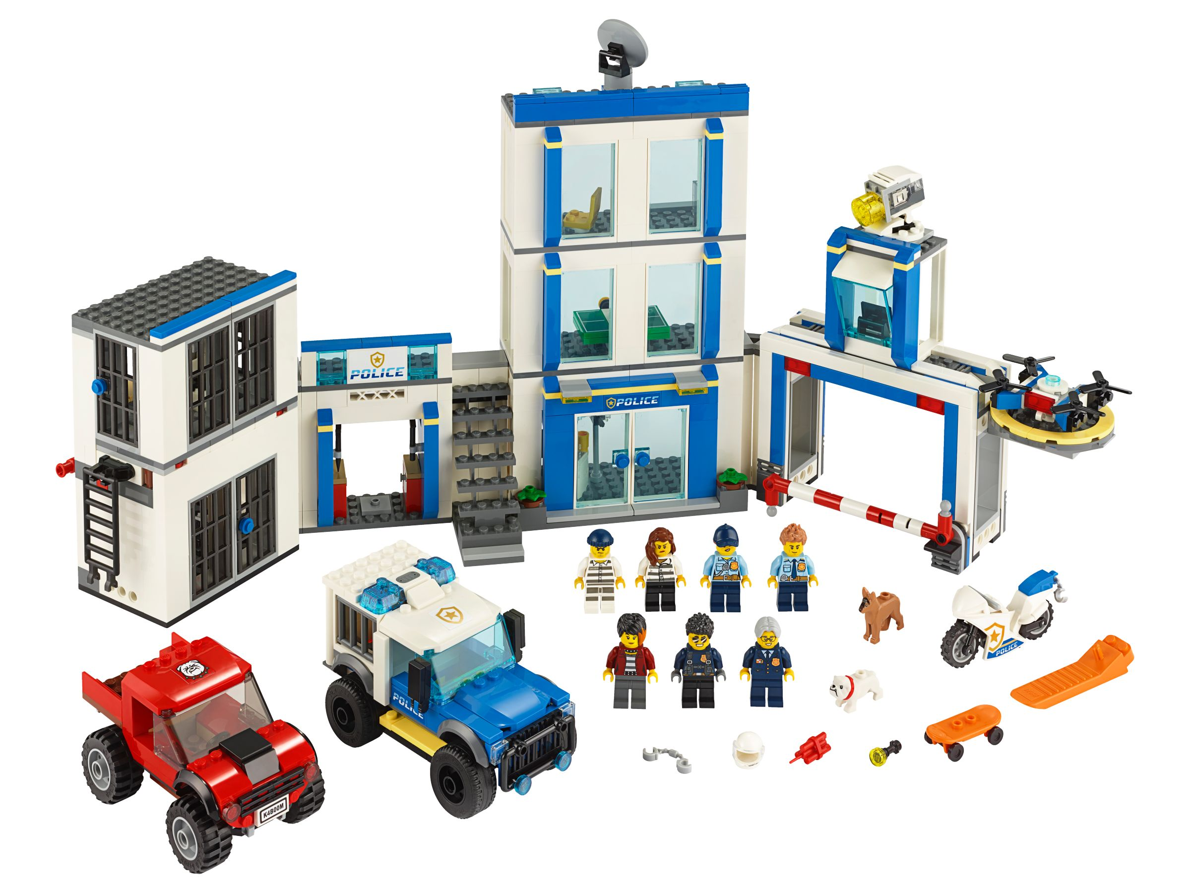 LEGO City 60246 Polizeistation
