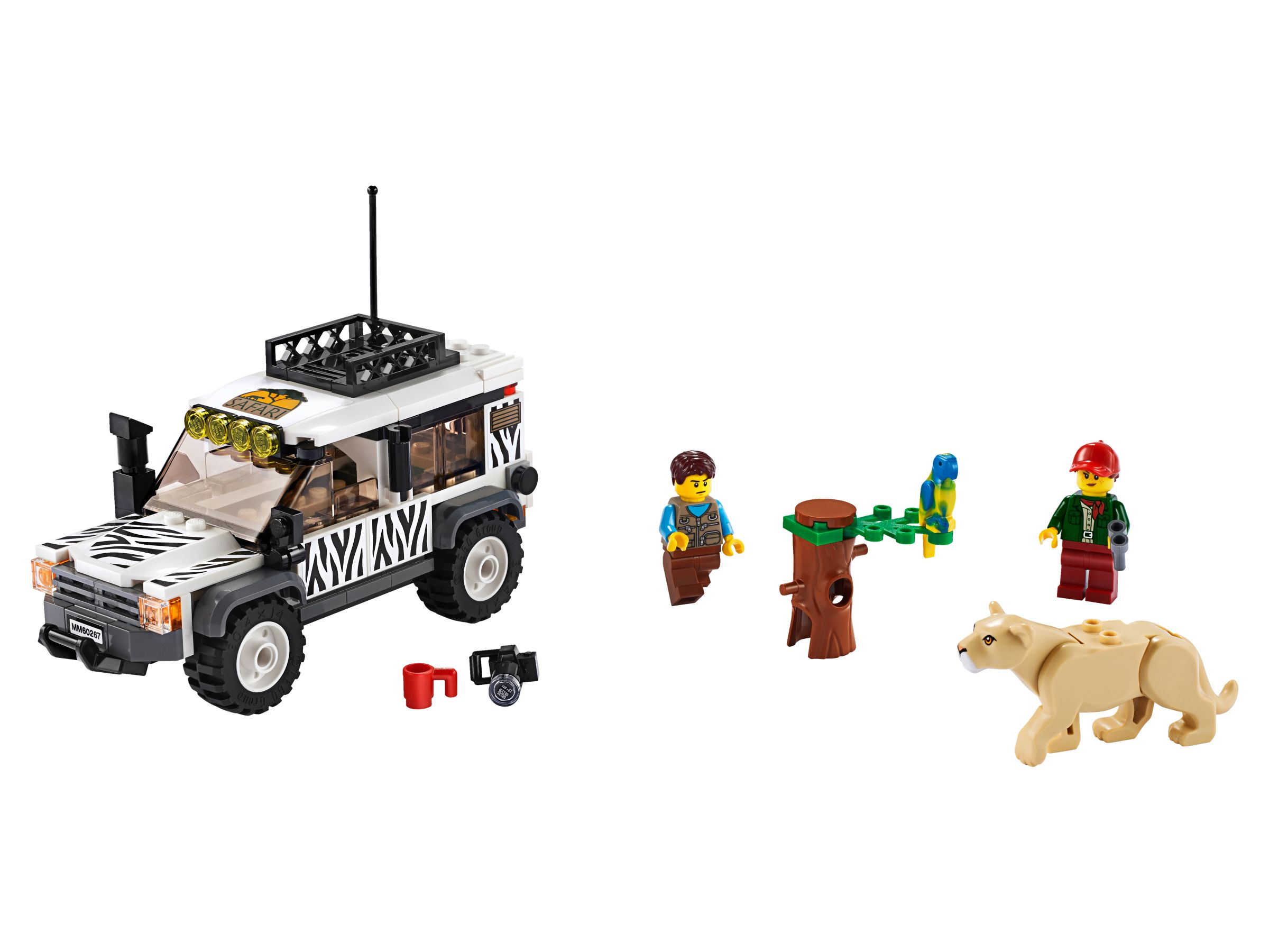 LEGO City 60267 Safari Adventure