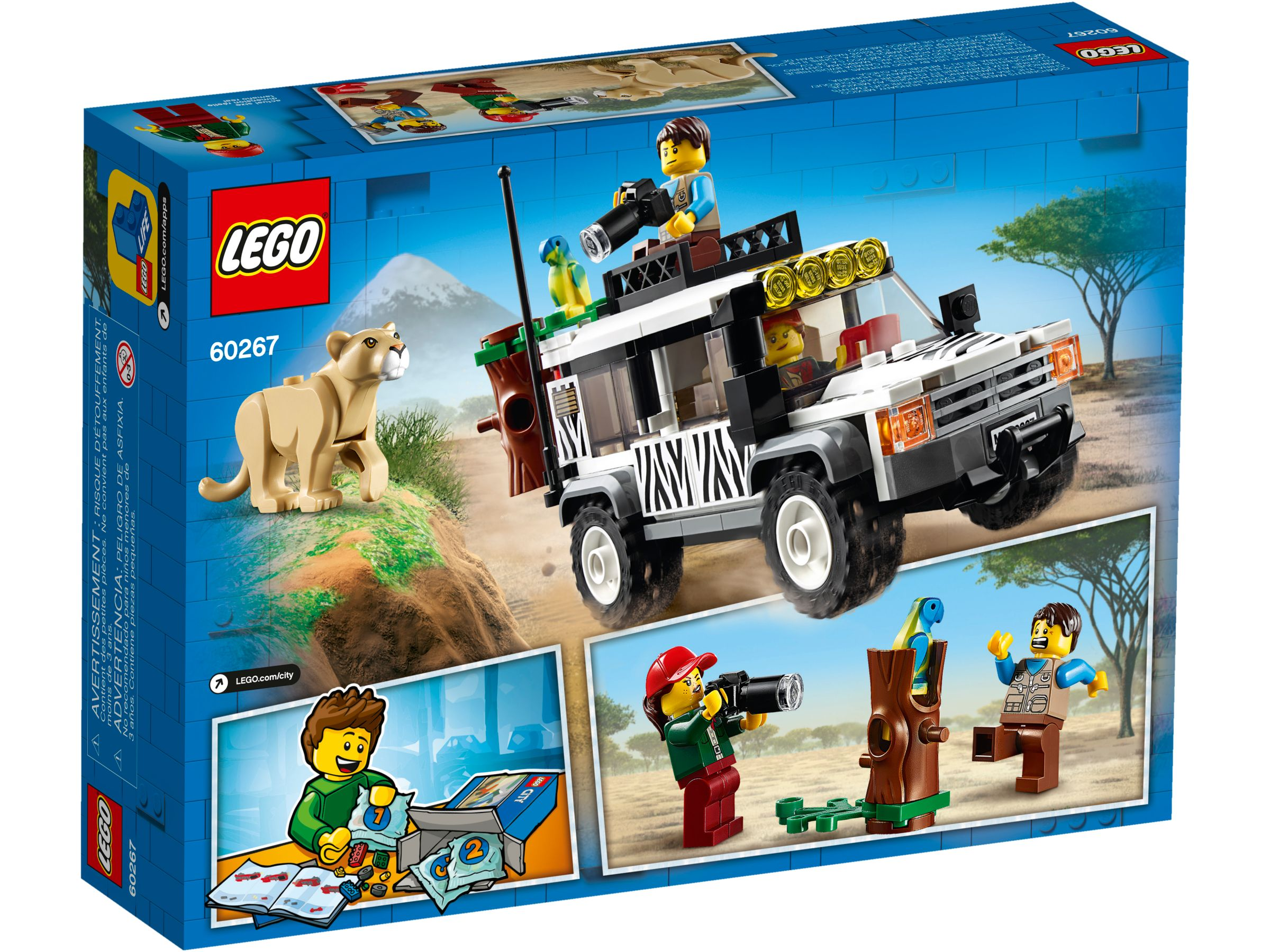 LEGO City 60267 Safari Adventure LEGO_60267_alt4.jpg