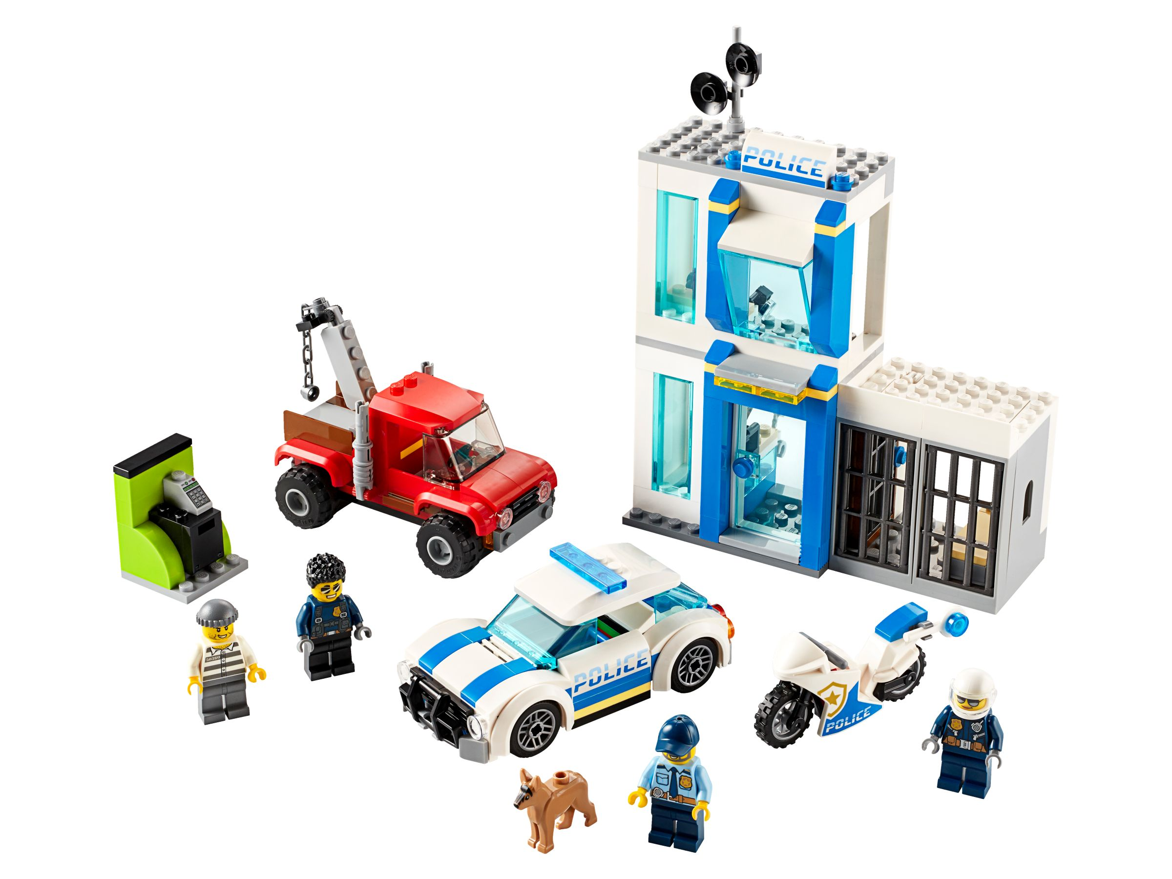 LEGO City 60270 Polizei-Steinebox