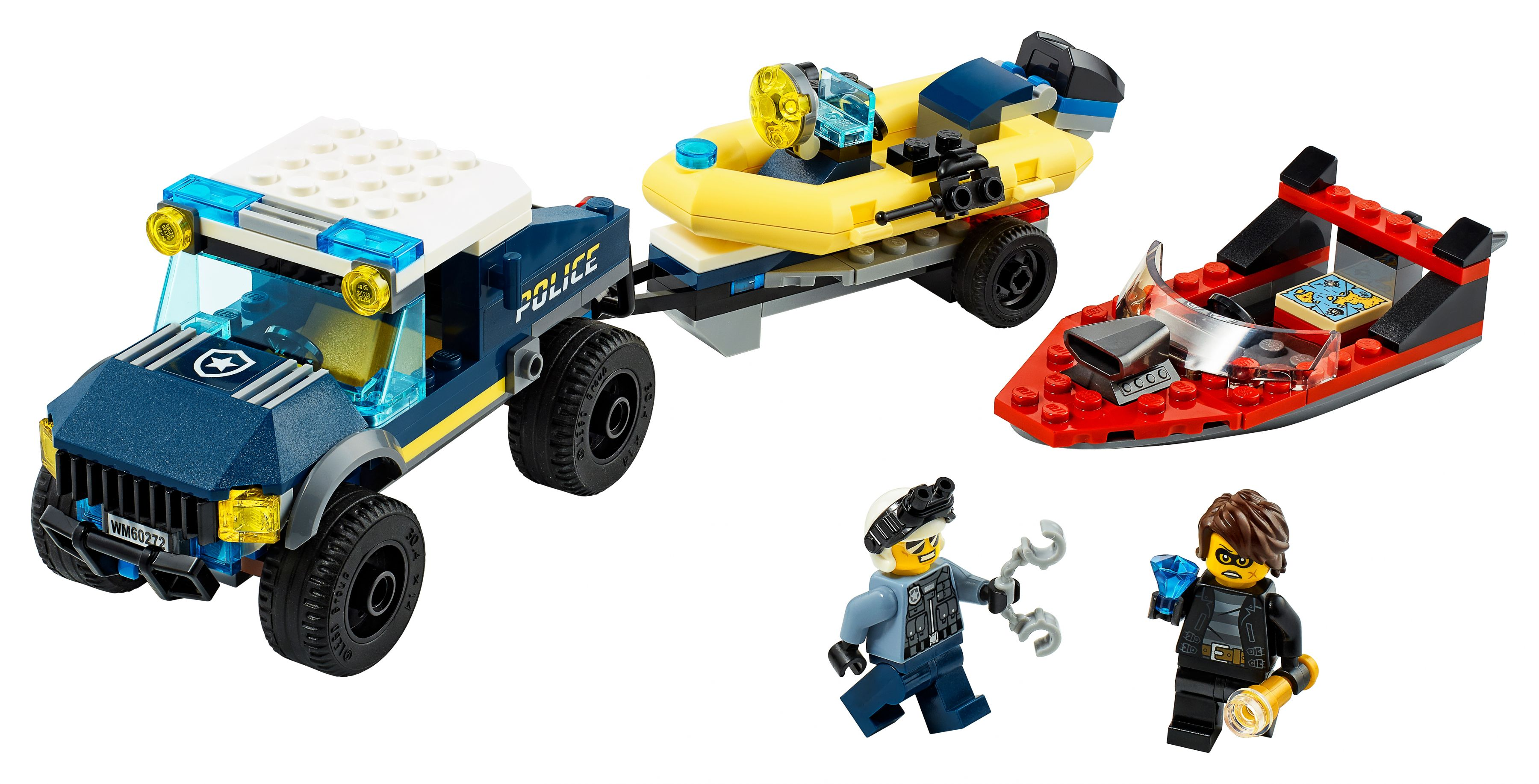 LEGO City 60272 Transport des Polizeiboots