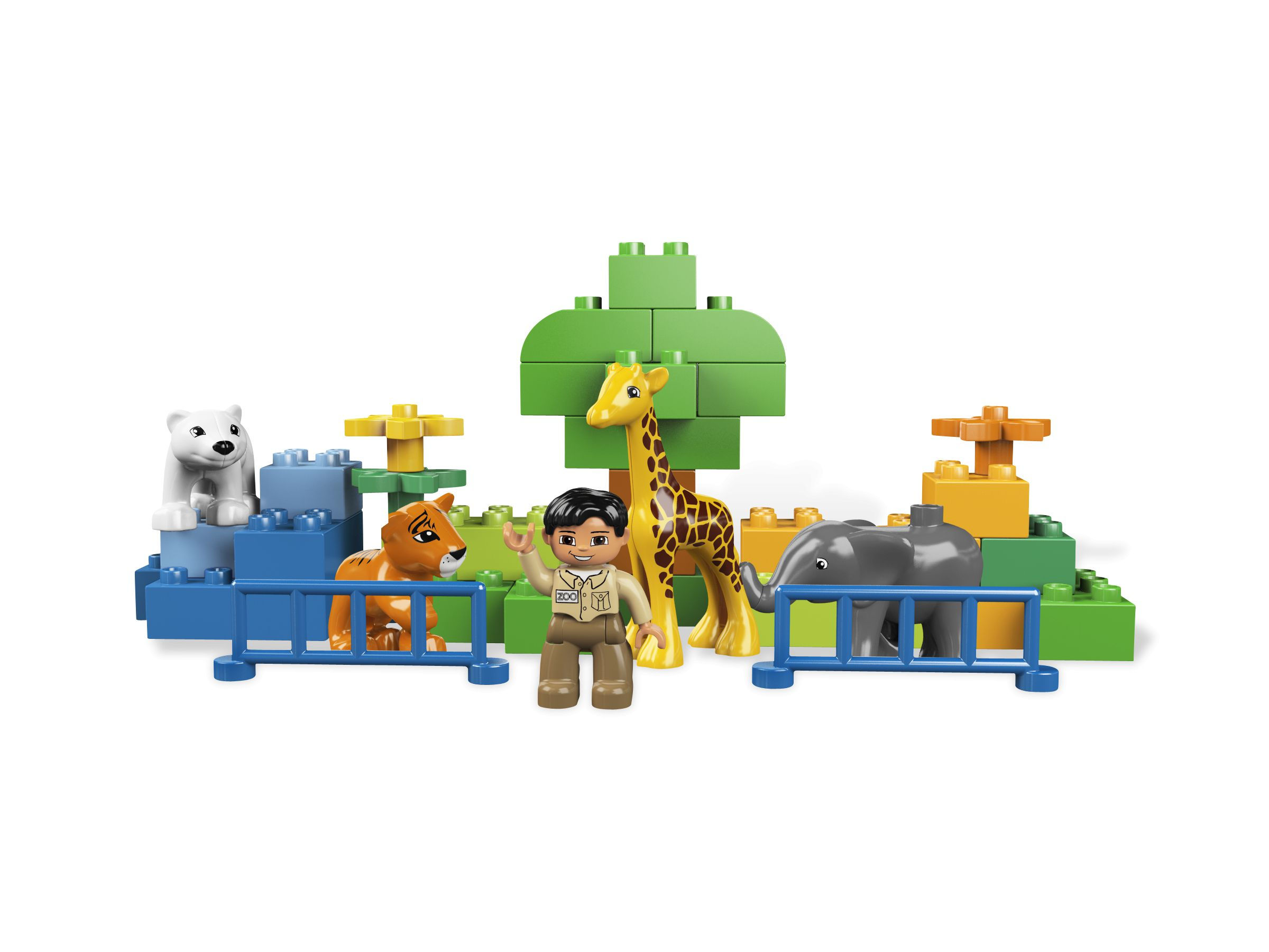 lego 6136 mein erster zoo duplo 2011 my first zoo brickmerge. Black Bedroom Furniture Sets. Home Design Ideas