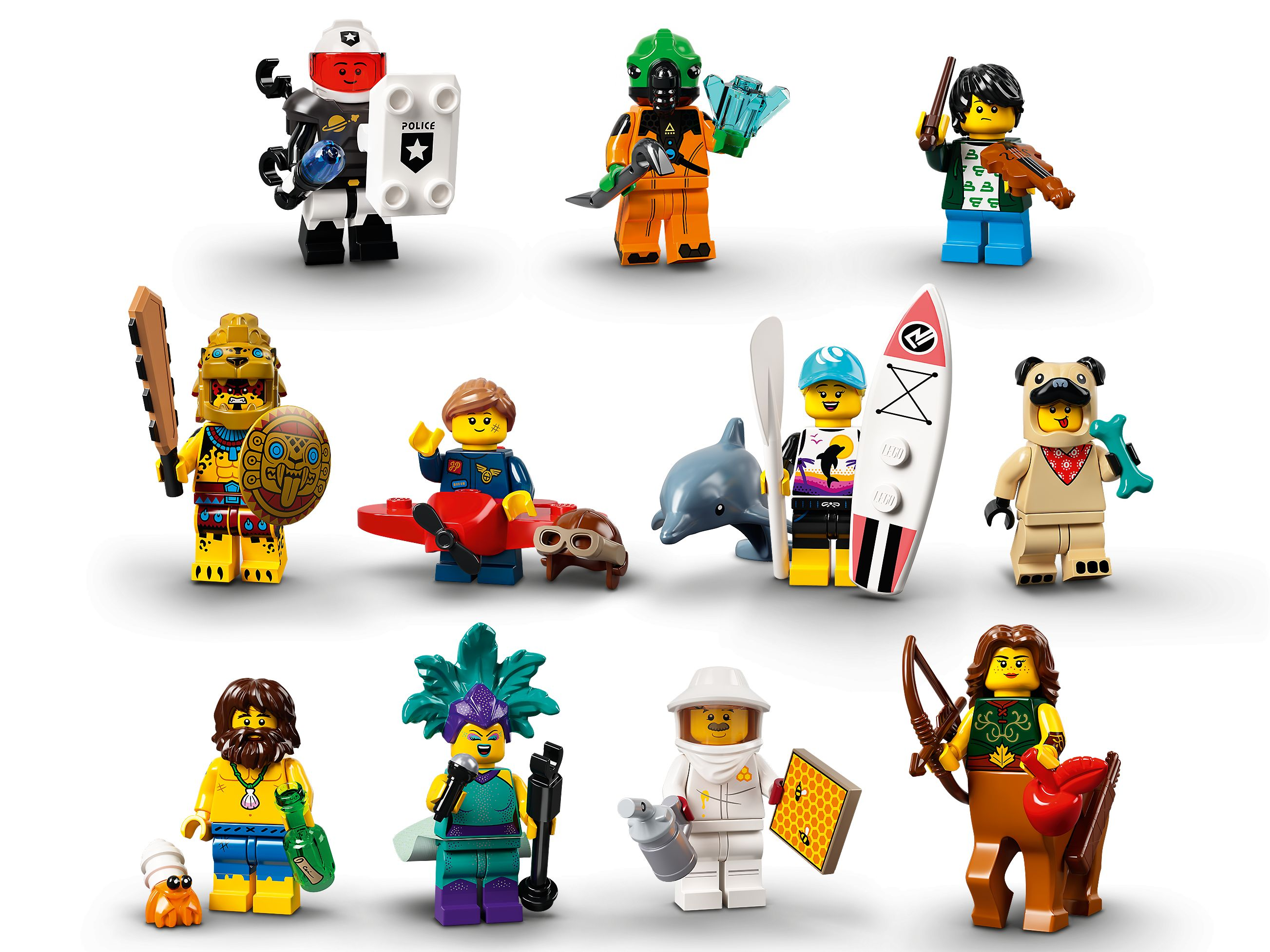 """LEGO® Collectable Minifigures 66657 Series 21 -"""" 6 Pack"""