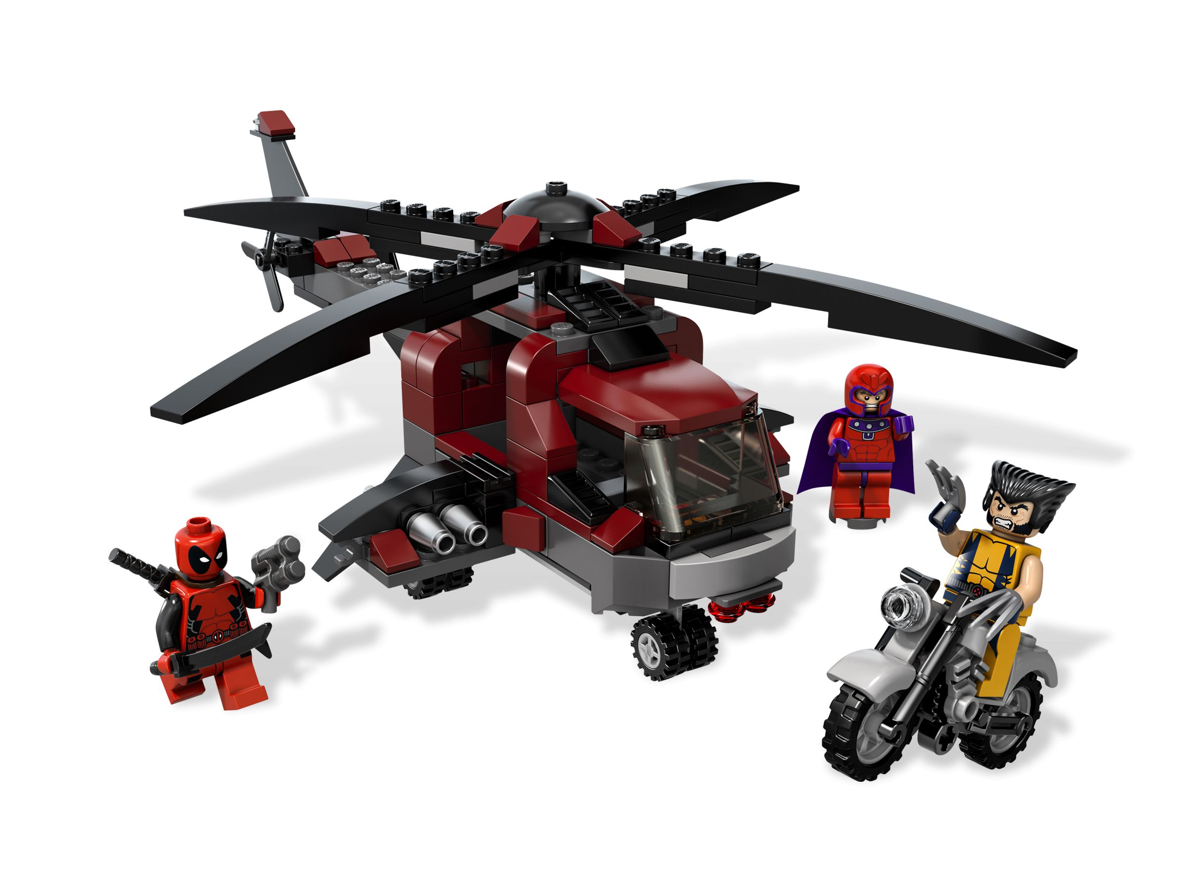 LEGO Super Heroes 6866 Wolverine's Chopper Showdown LEGO_6866.jpg