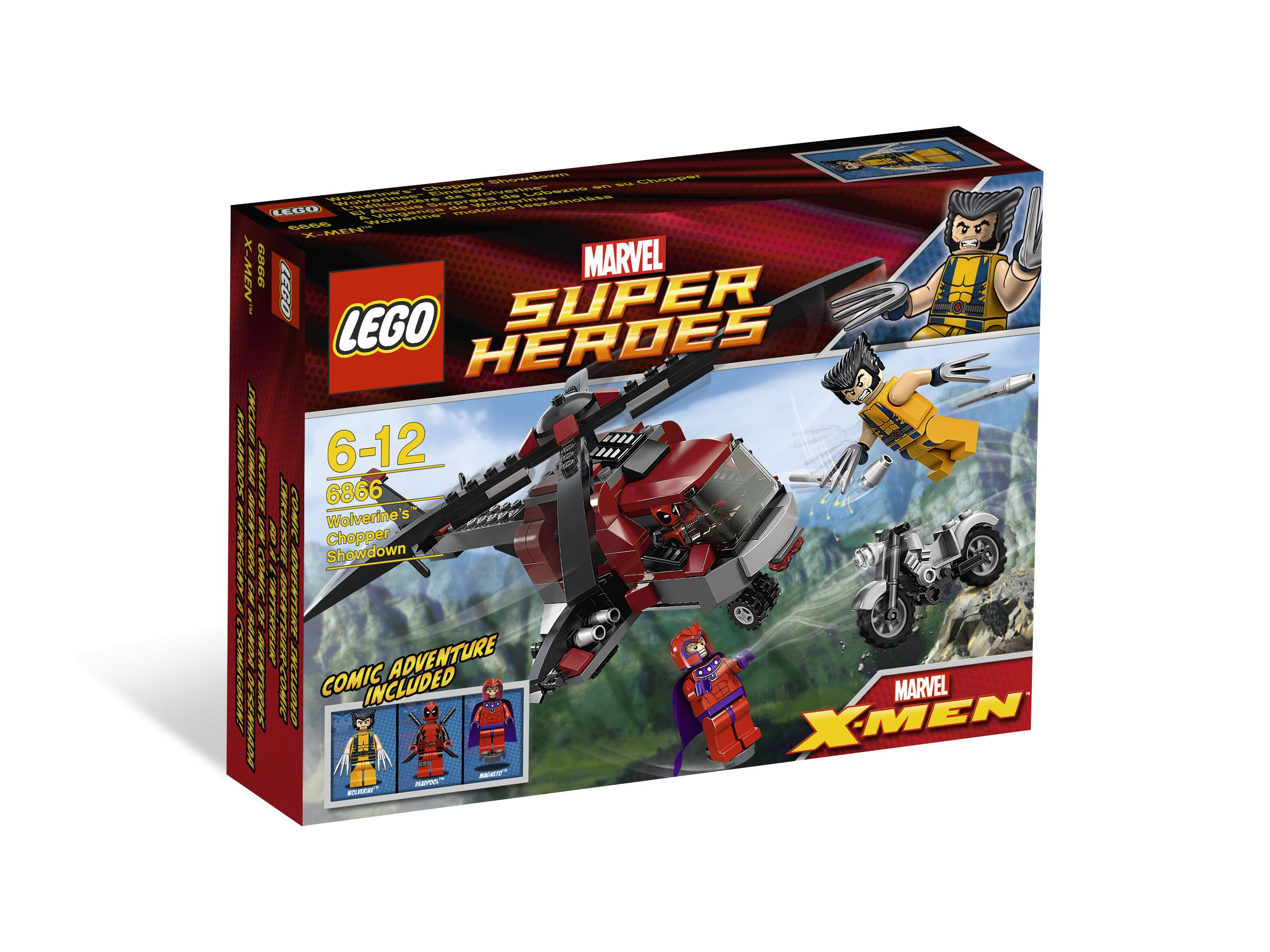 LEGO Super Heroes 6866 Wolverine's Chopper Showdown LEGO_6866_alt1.jpg