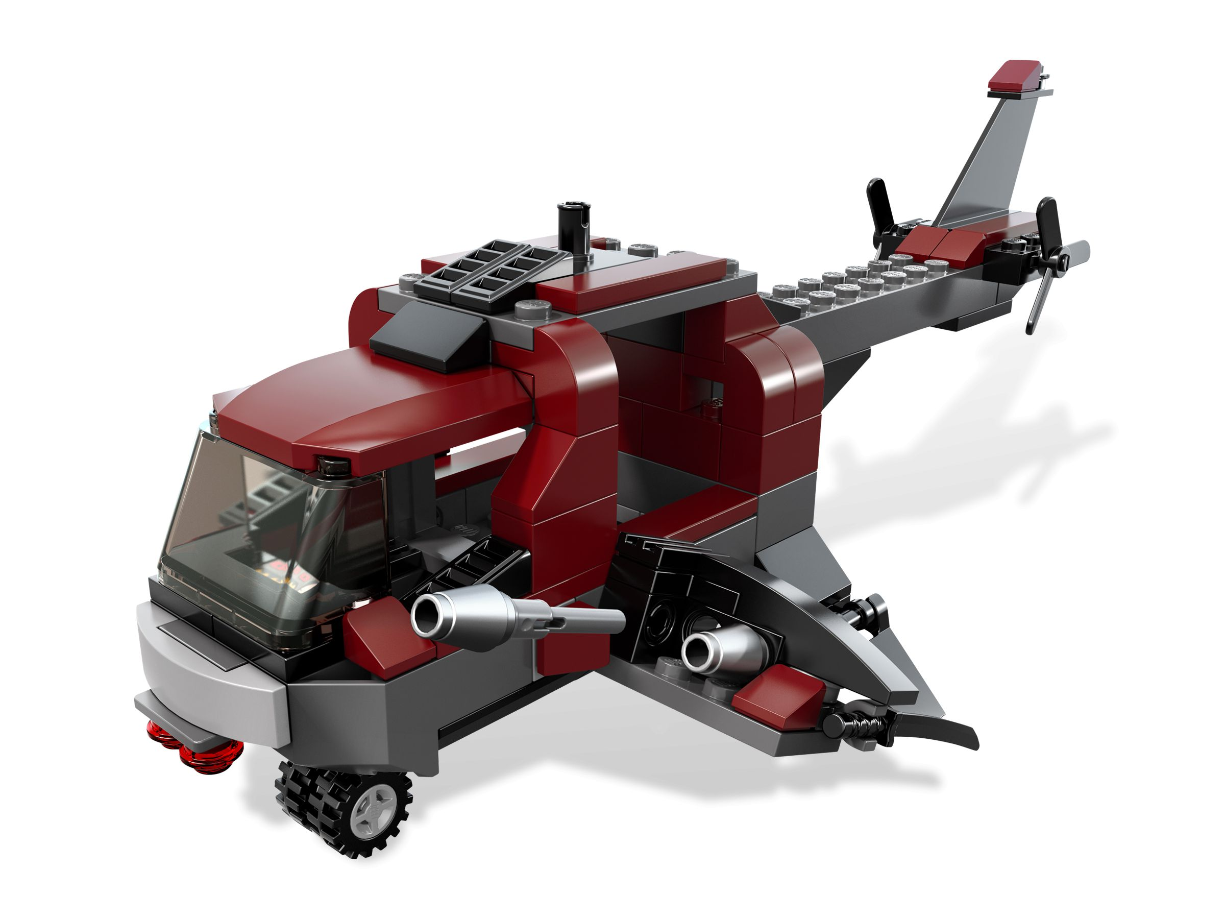 LEGO Super Heroes 6866 Wolverine's Chopper Showdown LEGO_6866_alt3.jpg