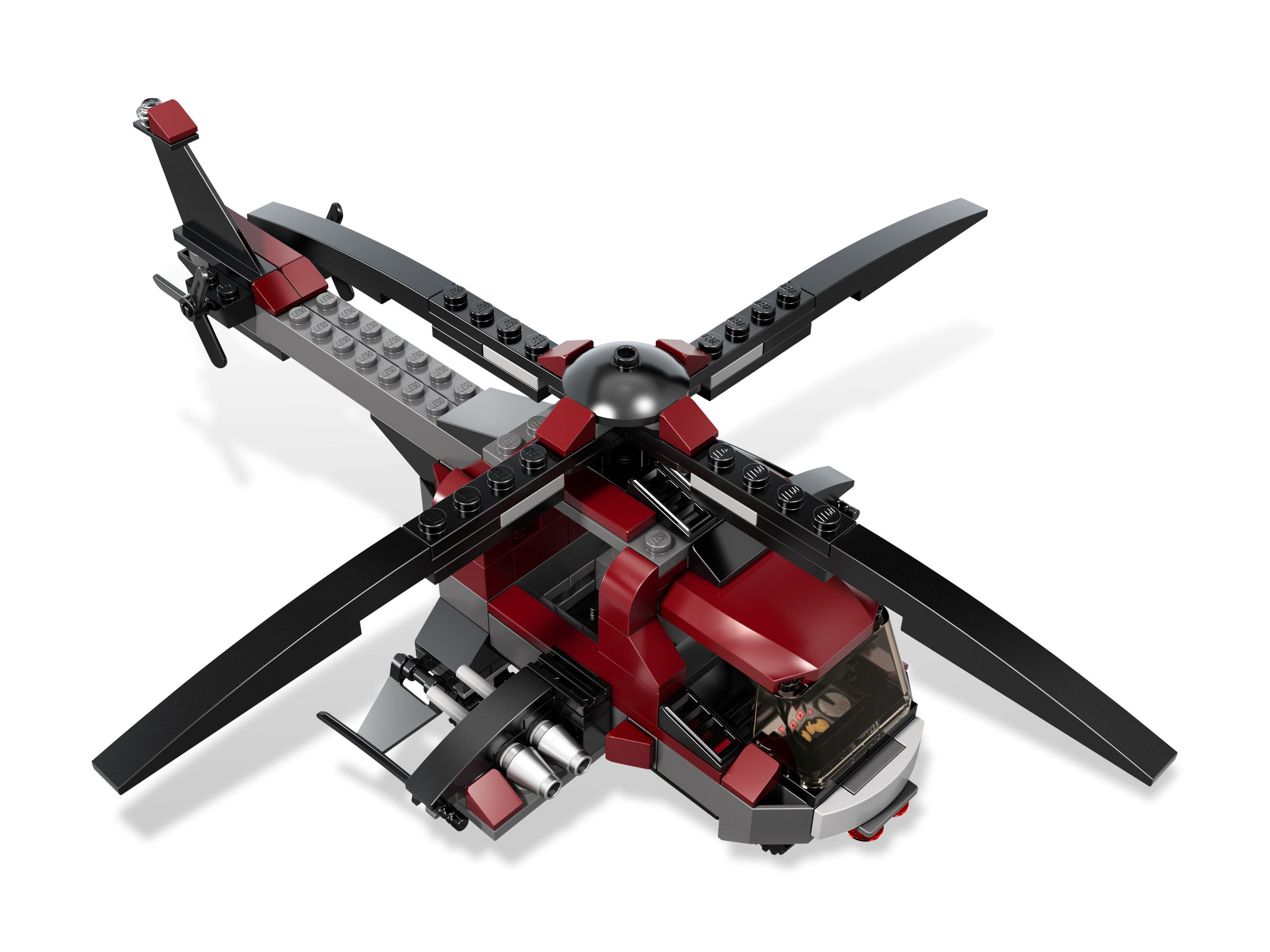 LEGO Super Heroes 6866 Wolverine's Chopper Showdown LEGO_6866_alt4.jpg