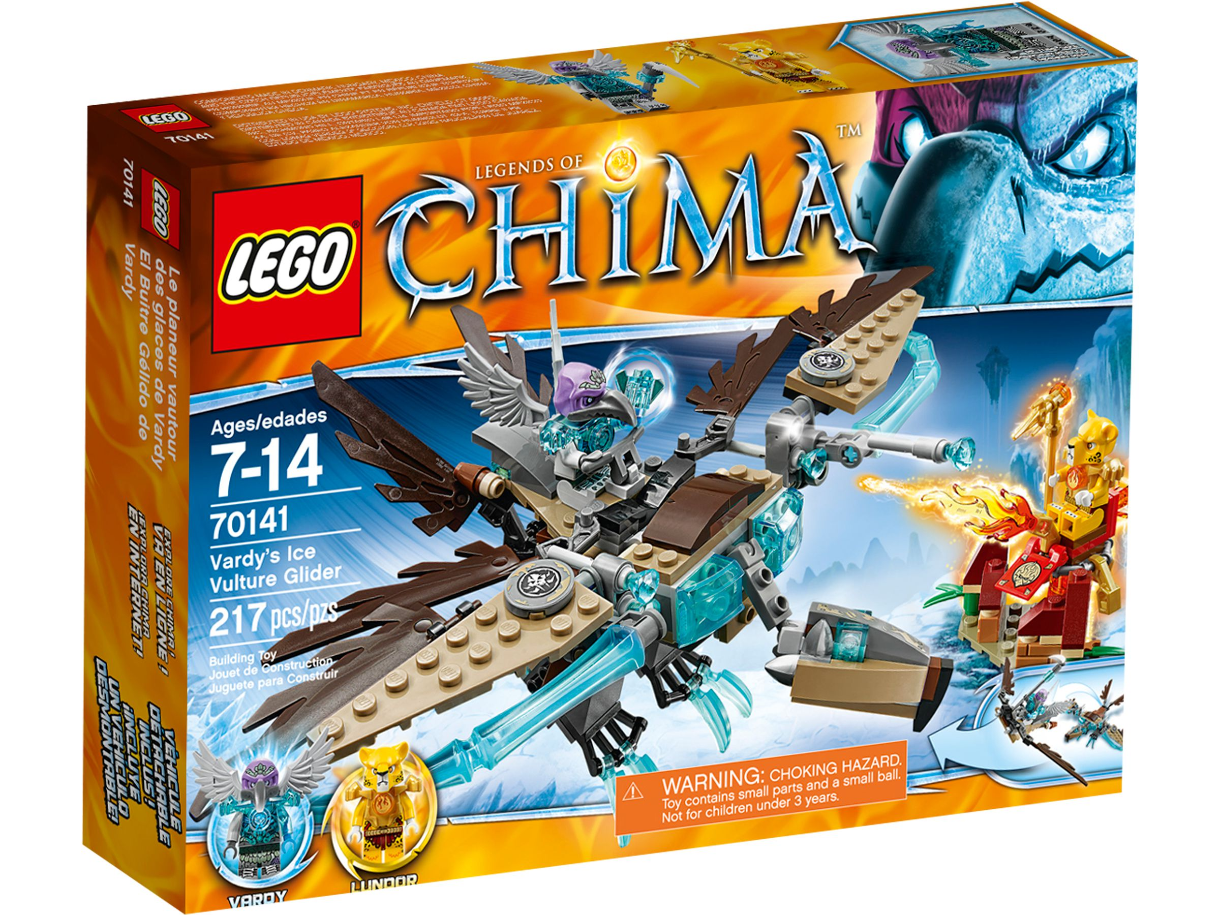 LEGO Legends Of Chima 70141 Vardys Eis-Gleiter LEGO_70141_alt1.jpg