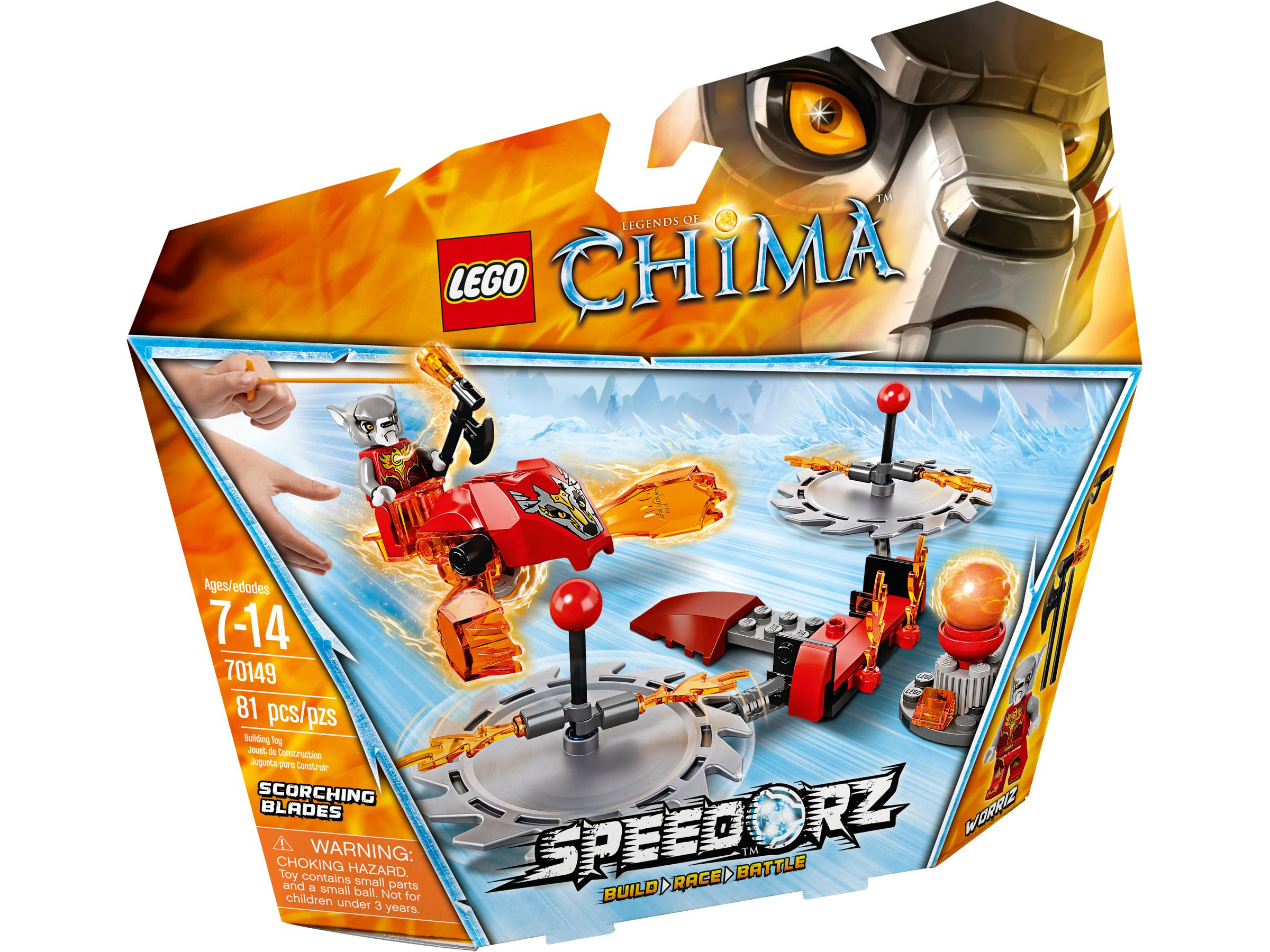 LEGO Legends Of Chima 70149 Feuer-Klingen LEGO_70149_alt1.jpg