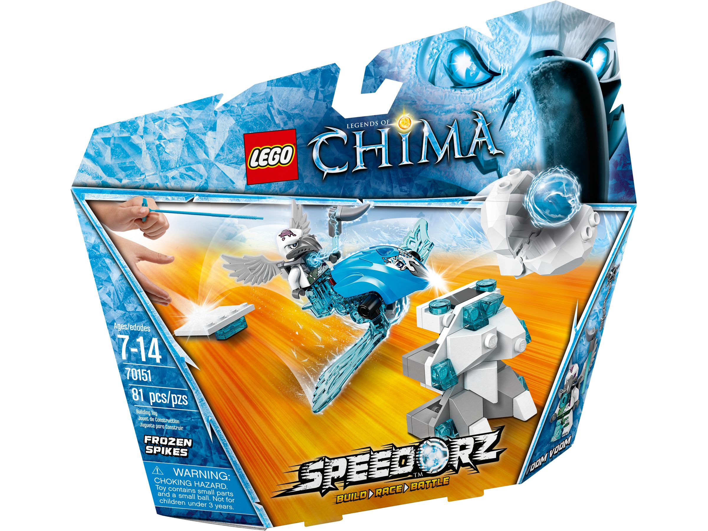 LEGO Legends Of Chima 70151 Eis-Stachel LEGO_70151_alt1.jpg
