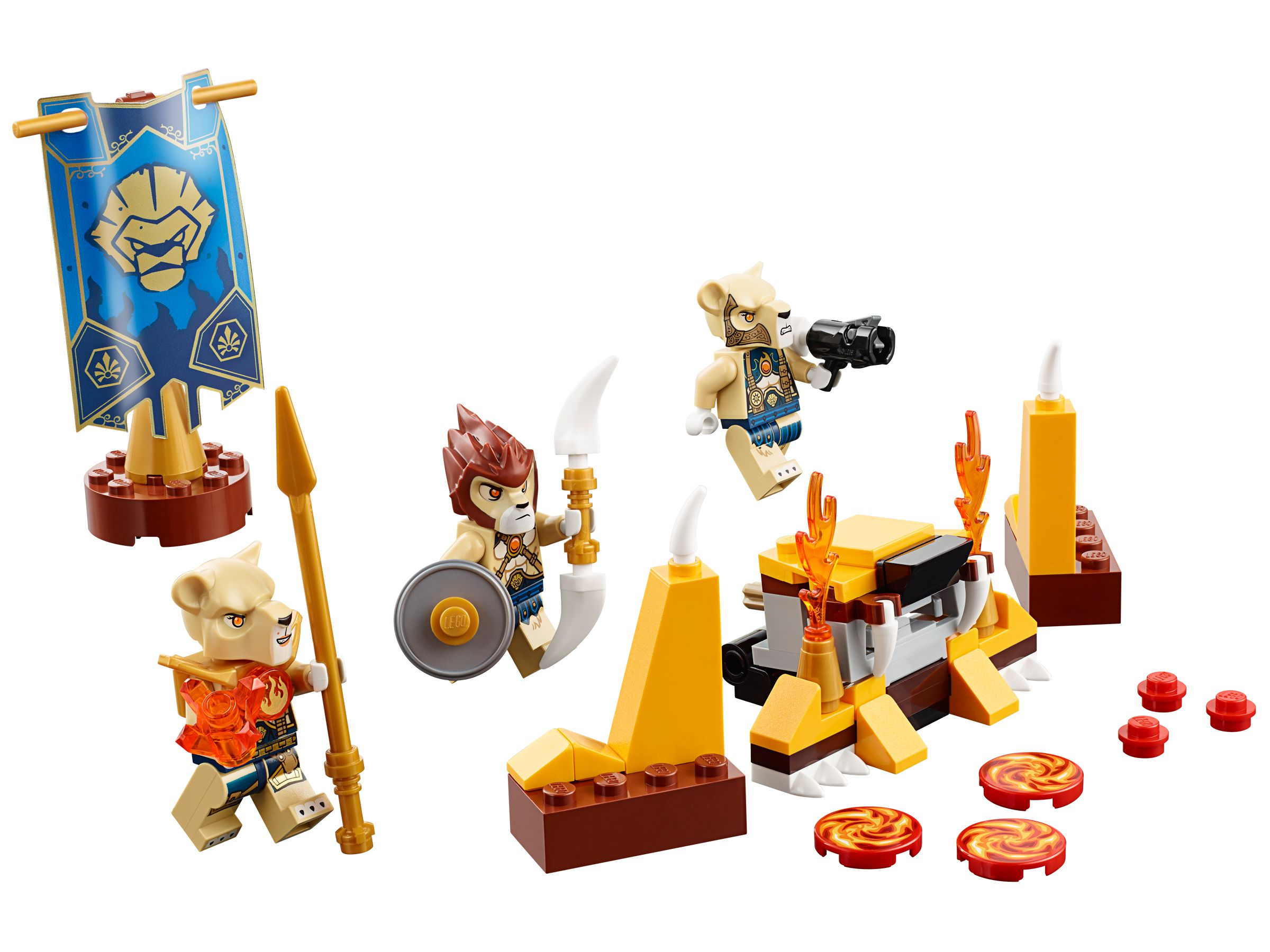 LEGO Legends Of Chima 70229 Löwenstamm-Set LEGO_70229.jpg