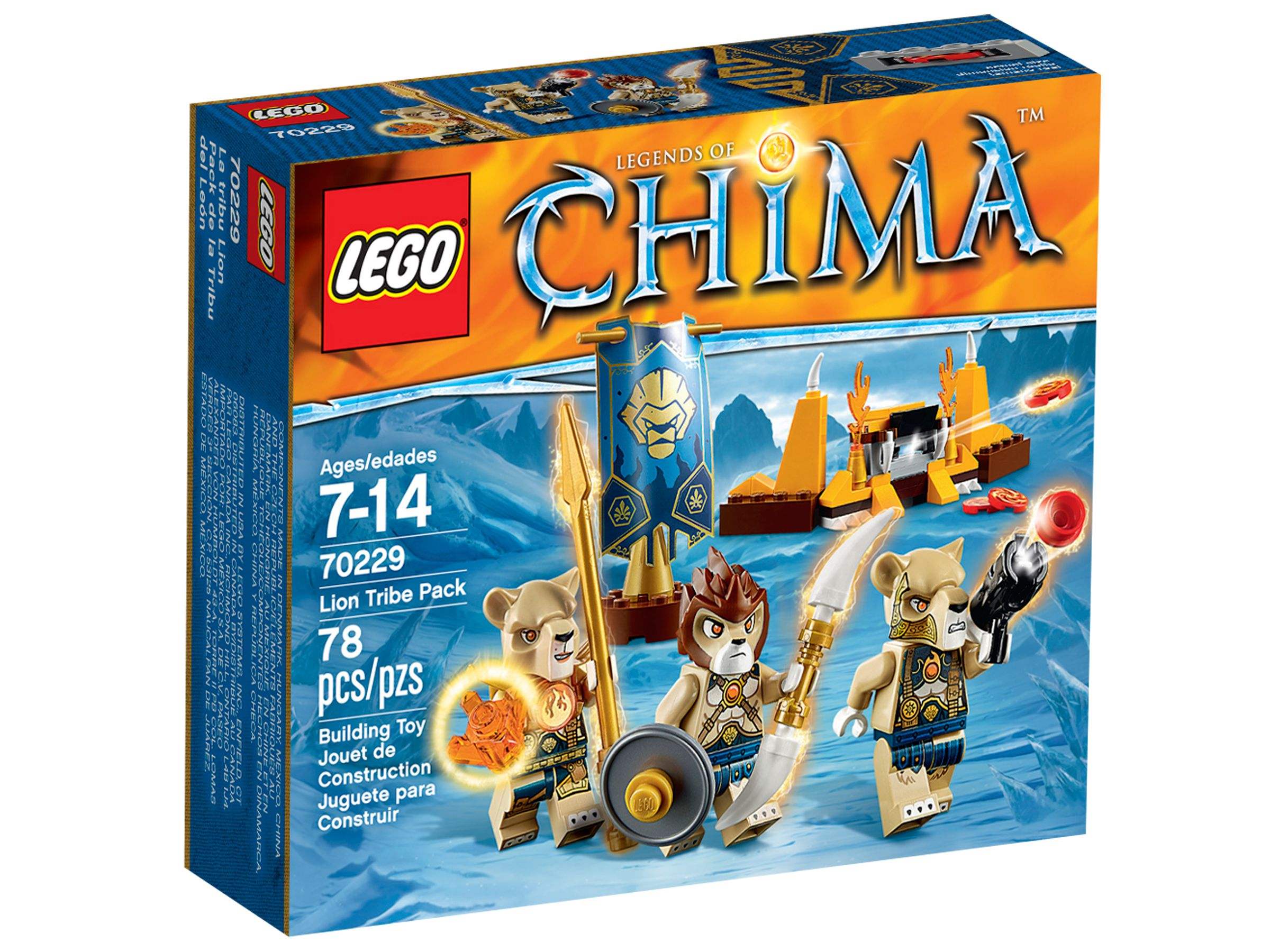 LEGO Legends Of Chima 70229 Löwenstamm-Set LEGO_70229_alt1.jpg