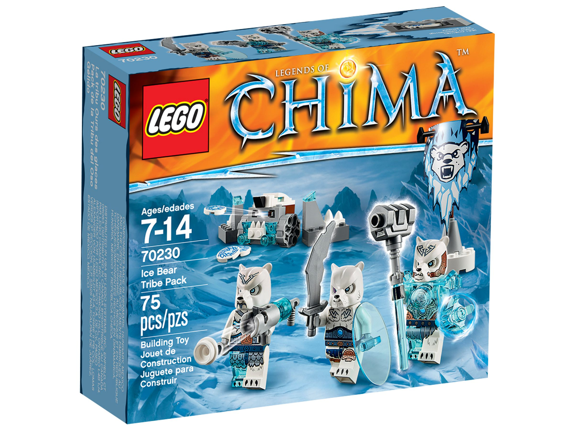 LEGO Legends Of Chima 70230 Eisbärstamm-Set LEGO_70230_alt1.jpg