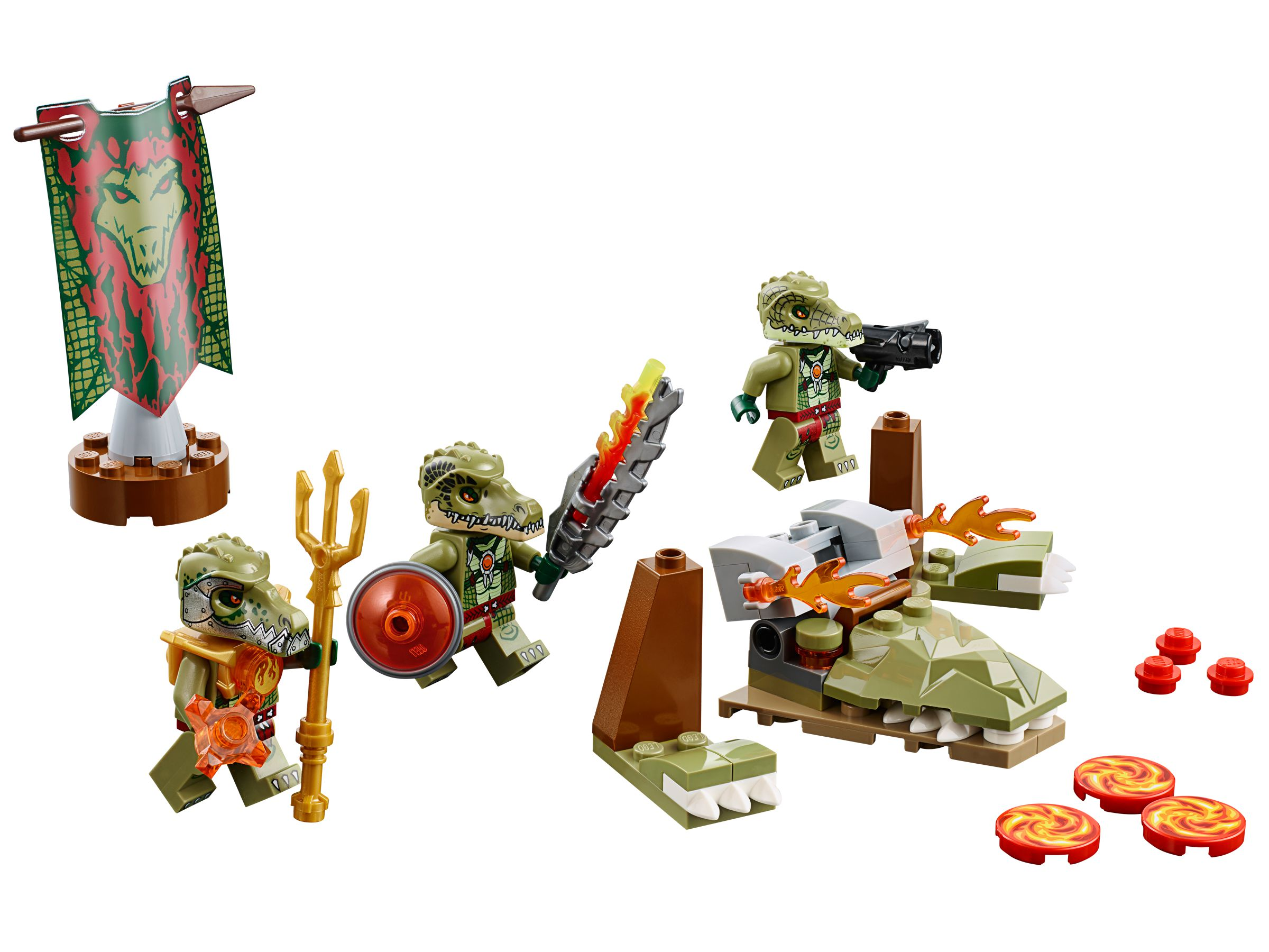 LEGO Legends Of Chima 70231 Krokodilstamm-Set LEGO_70231.jpg