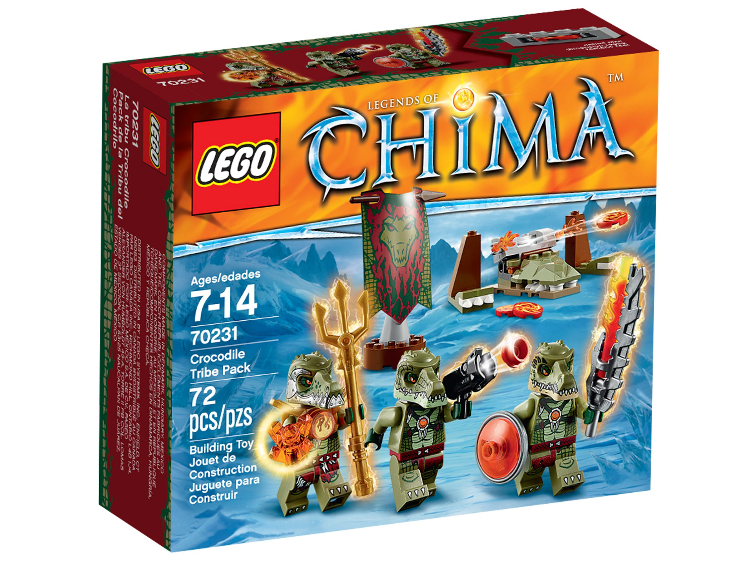 LEGO Legends Of Chima 70231 Krokodilstamm-Set LEGO_70231_alt1.jpg