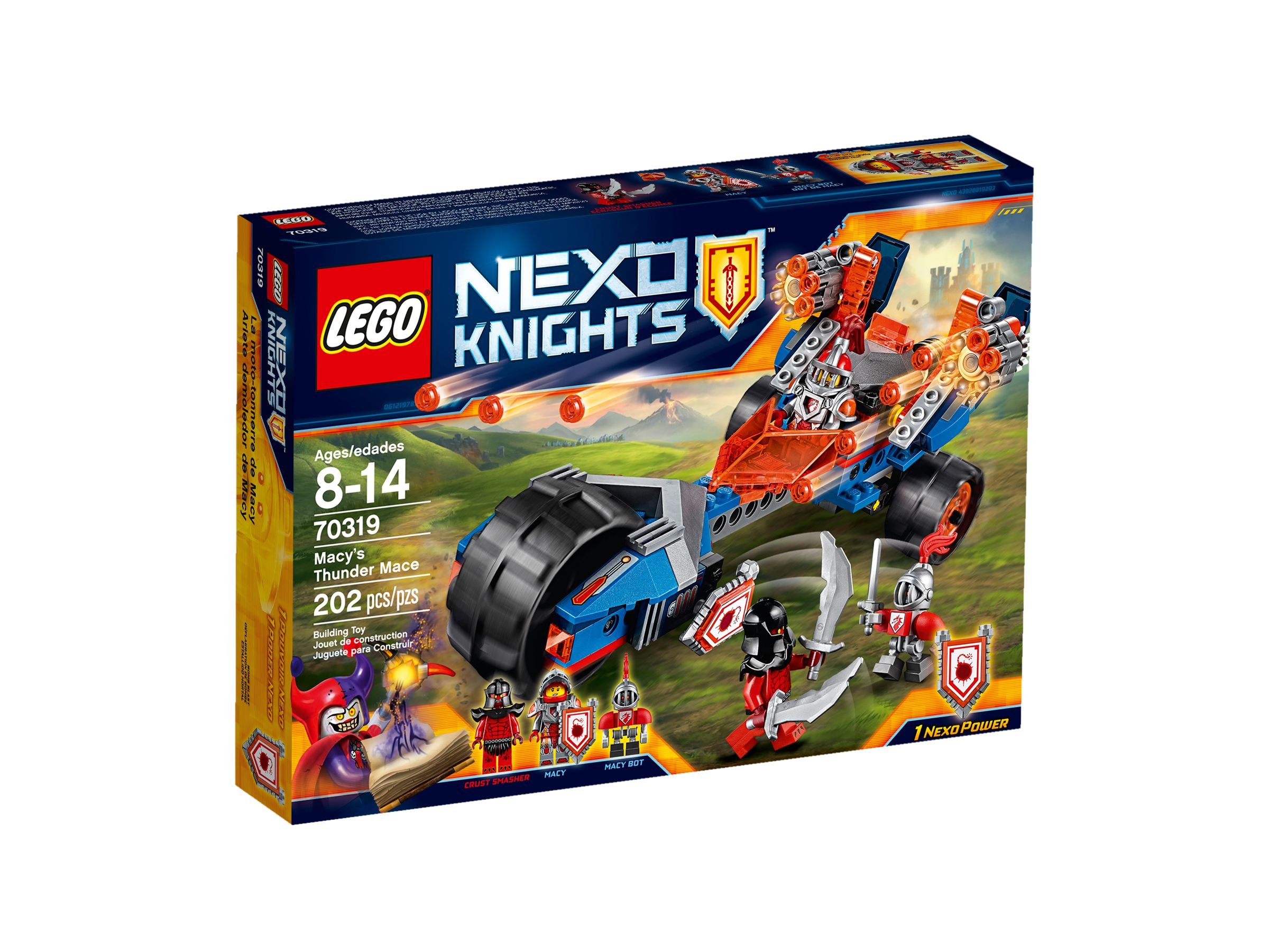 lego 70319 macys donnerbike nexo knights 2016 ab 16 67. Black Bedroom Furniture Sets. Home Design Ideas