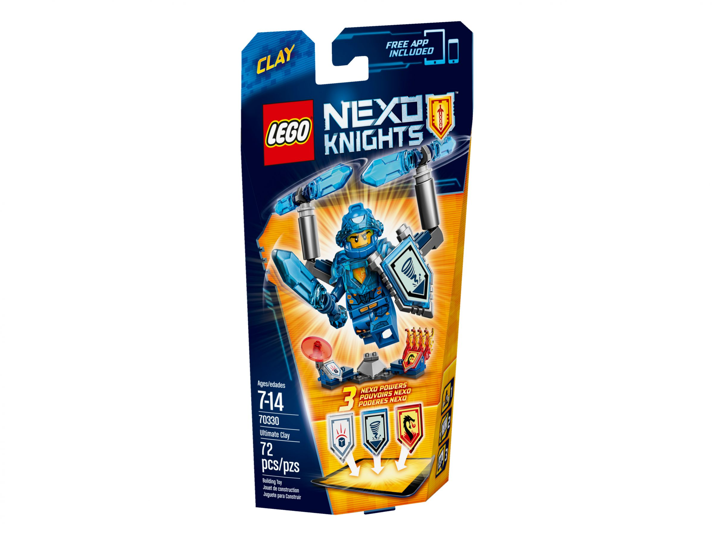 LEGO Nexo Knights 70330 Ultimativer Clay LEGO_70330_alt1.jpg