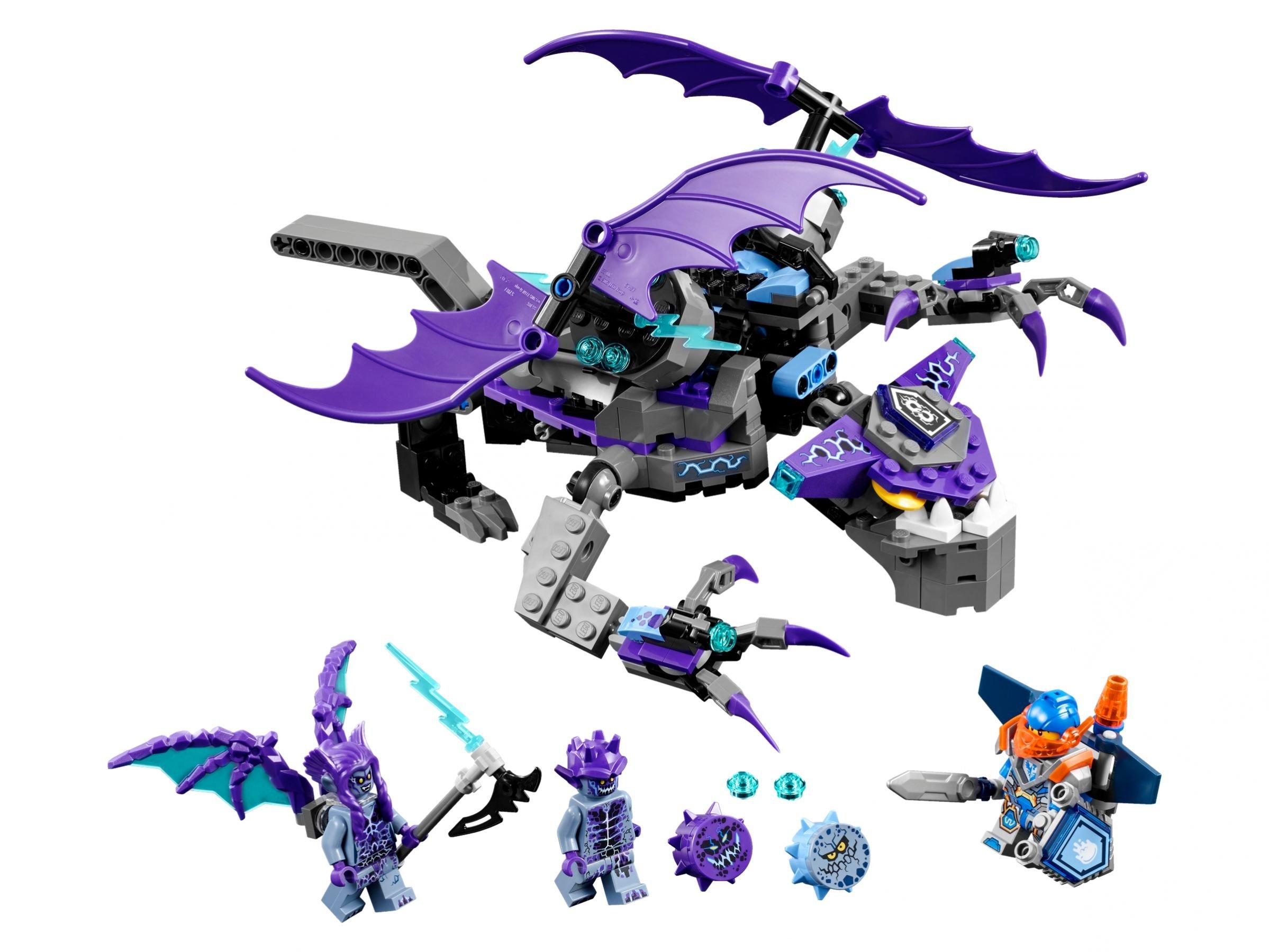 Lego Nexo Knights 70353 Der Gargoyl Heli 2017 The Heligoyle