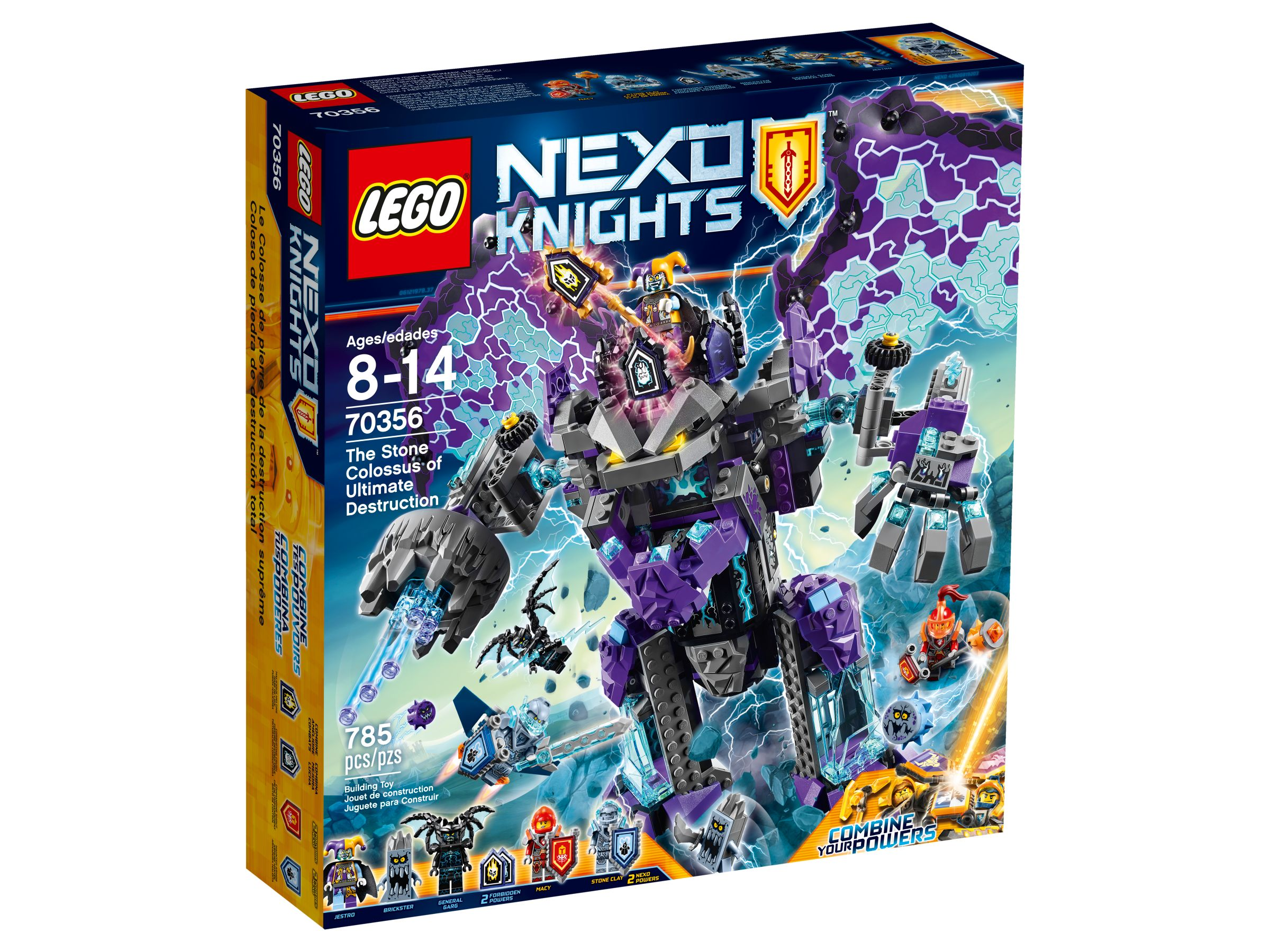 lego 70356 der st rmische steinkoloss nexo knights 2017 stone colossus of ultimate. Black Bedroom Furniture Sets. Home Design Ideas