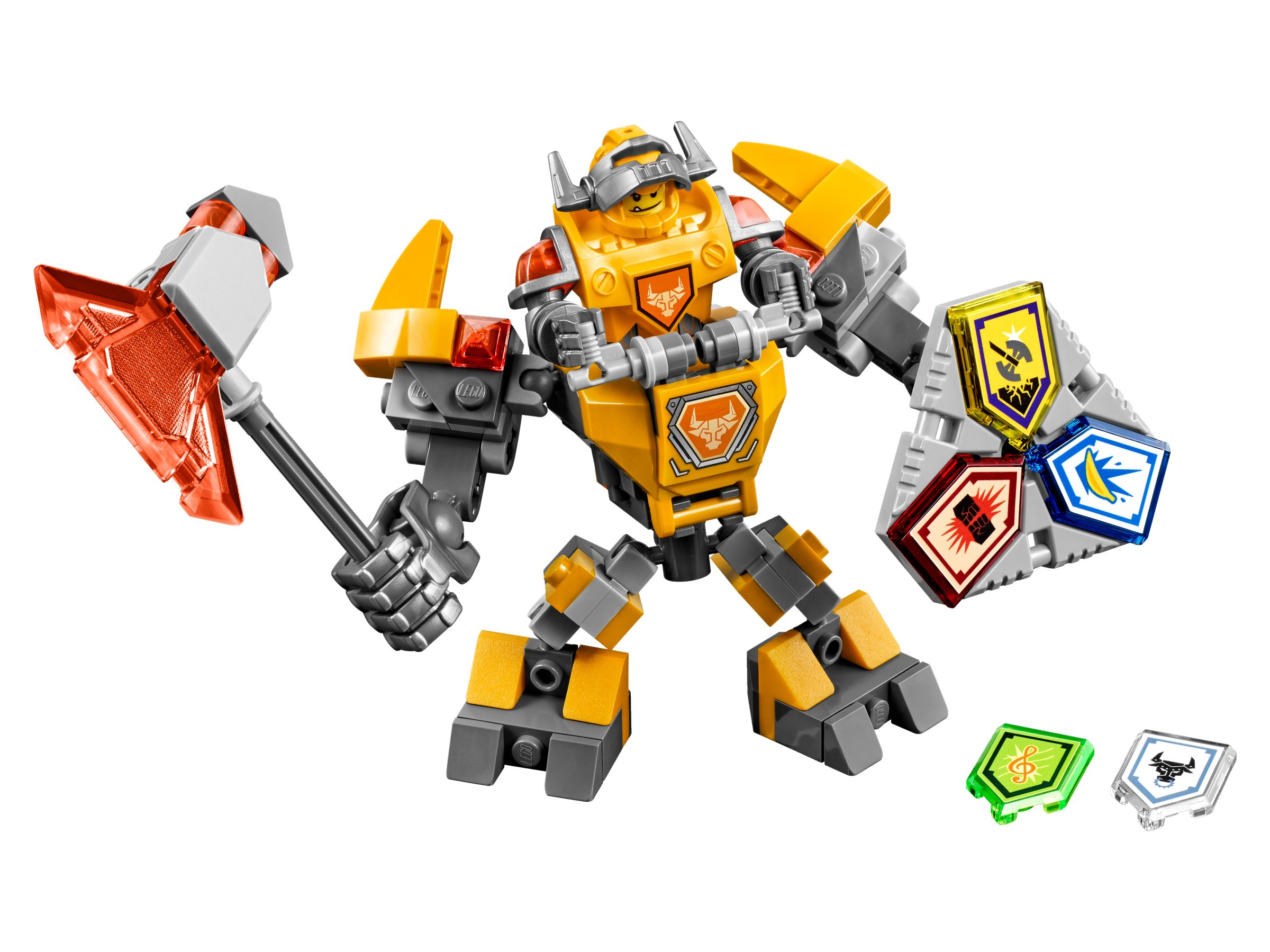 videos how to make lego nexo knights sets