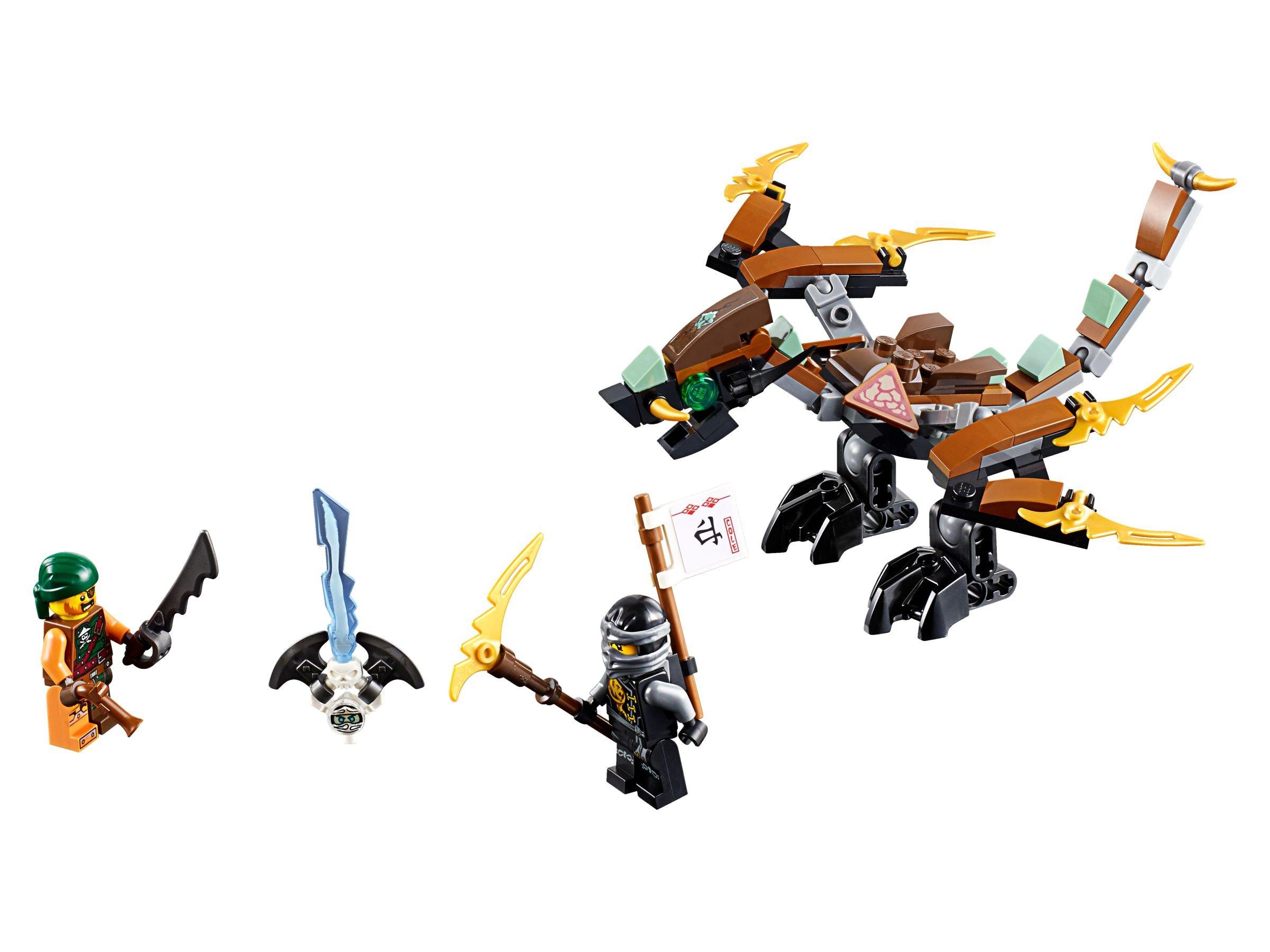 Lego 70599 coles drache ninjago 2016 cole 39 s dragon brickmerge - Dragon ninjago lego ...