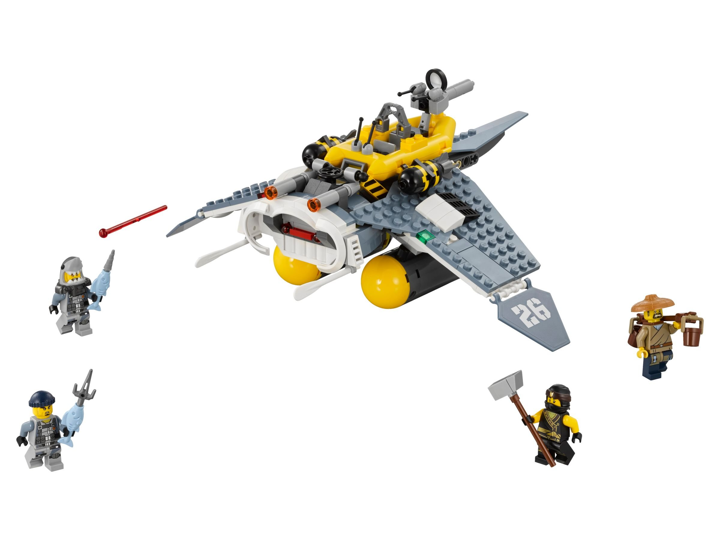 LEGO The LEGO Ninjago Movie 70609 Mantarochen-Flieger