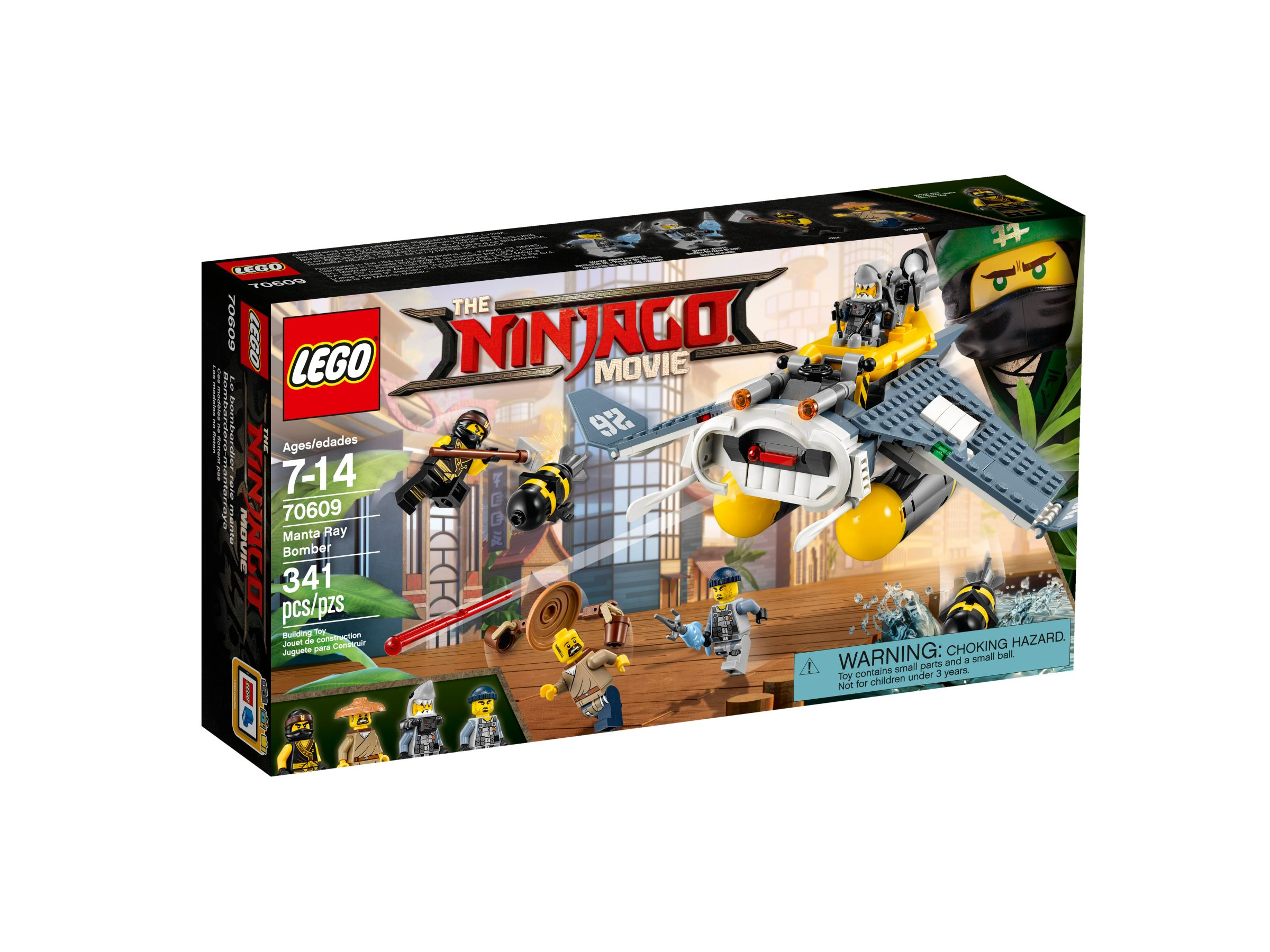 LEGO The LEGO Ninjago Movie 70609 Mantarochen-Flieger LEGO_70609_alt1.jpg