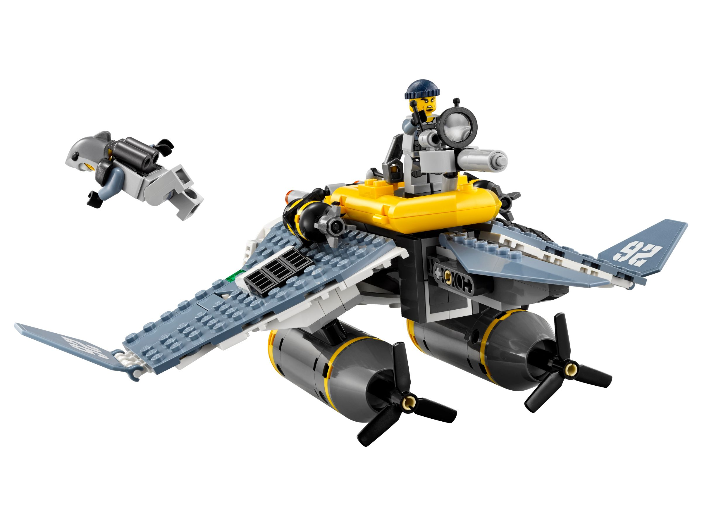 LEGO The LEGO Ninjago Movie 70609 Mantarochen-Flieger LEGO_70609_alt3.jpg