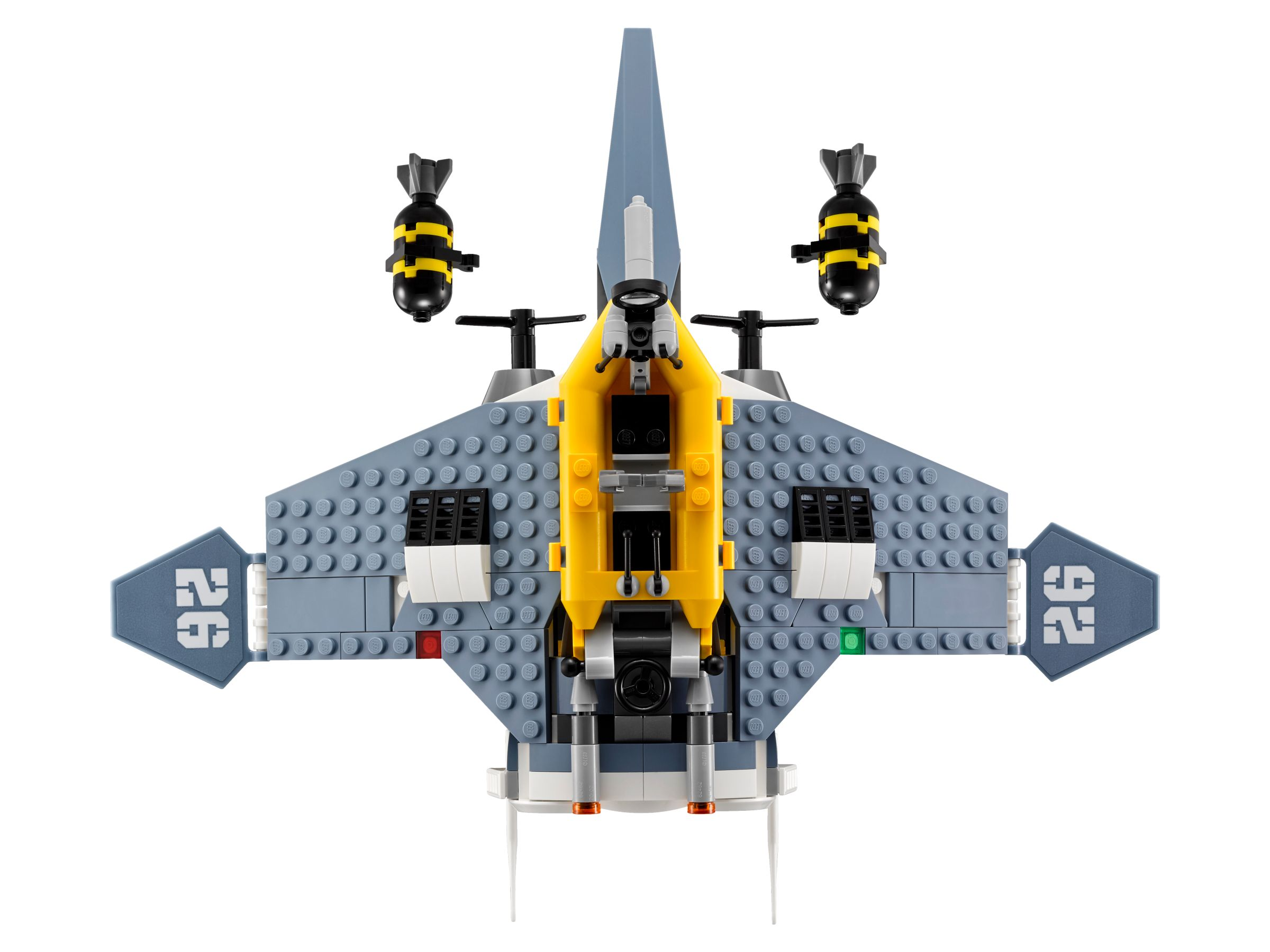 LEGO The LEGO Ninjago Movie 70609 Mantarochen-Flieger LEGO_70609_alt6.jpg