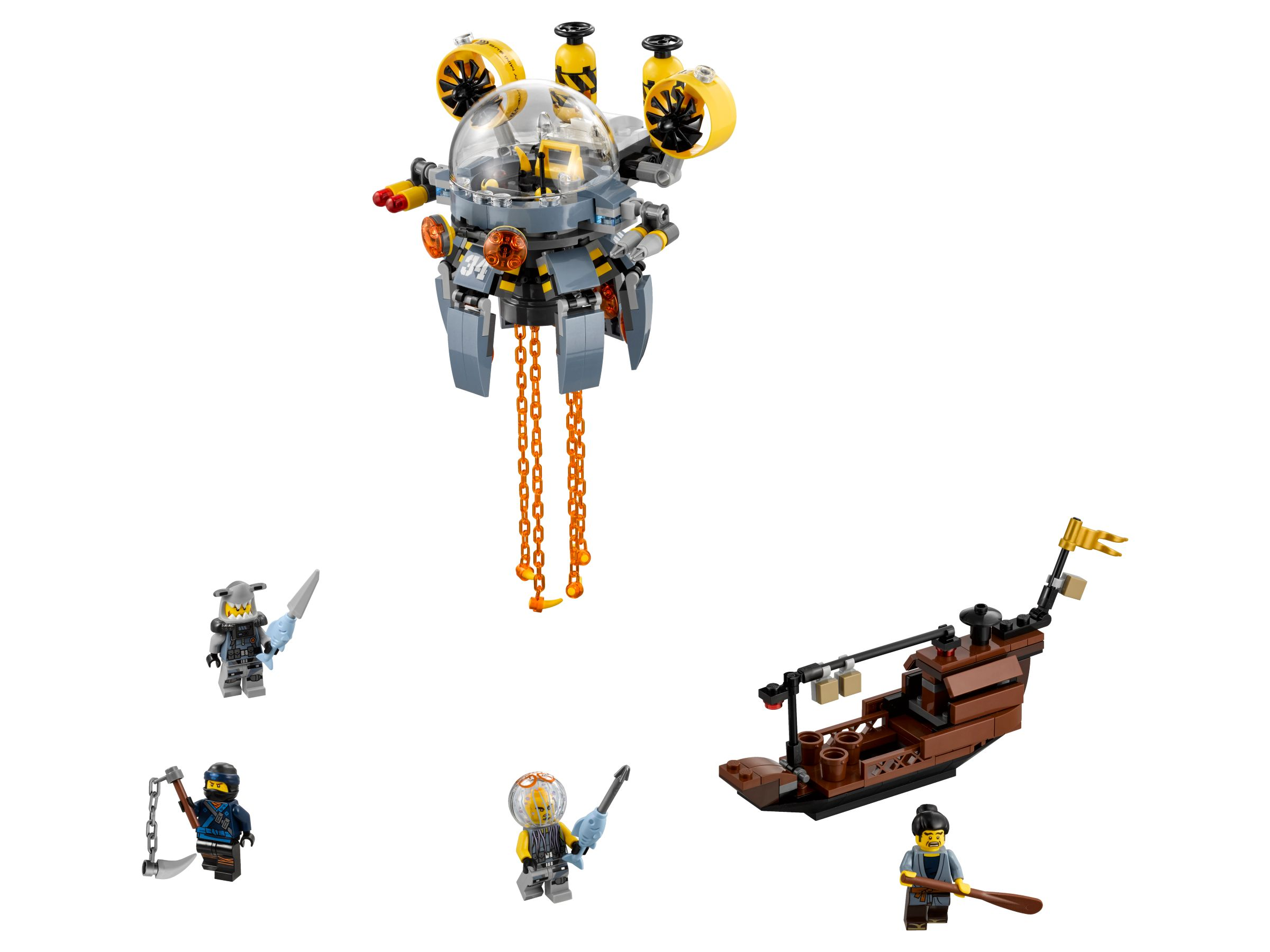 LEGO The LEGO Ninjago Movie 70610 Turbo Qualle