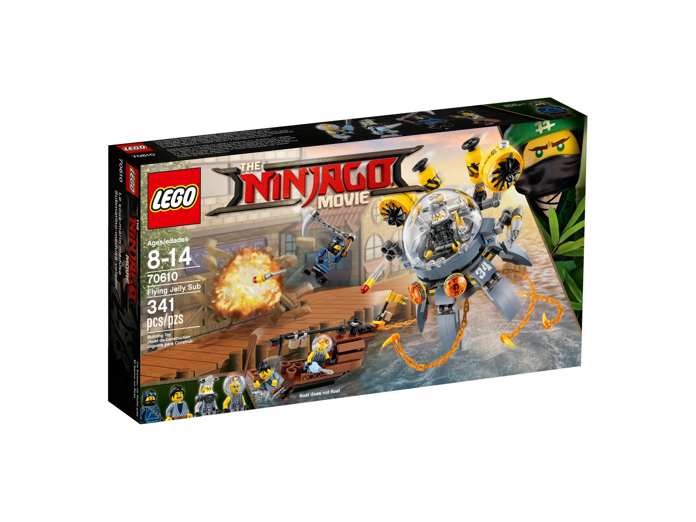 LEGO The LEGO Ninjago Movie 70610 Turbo Qualle LEGO_70610_alt1.jpg