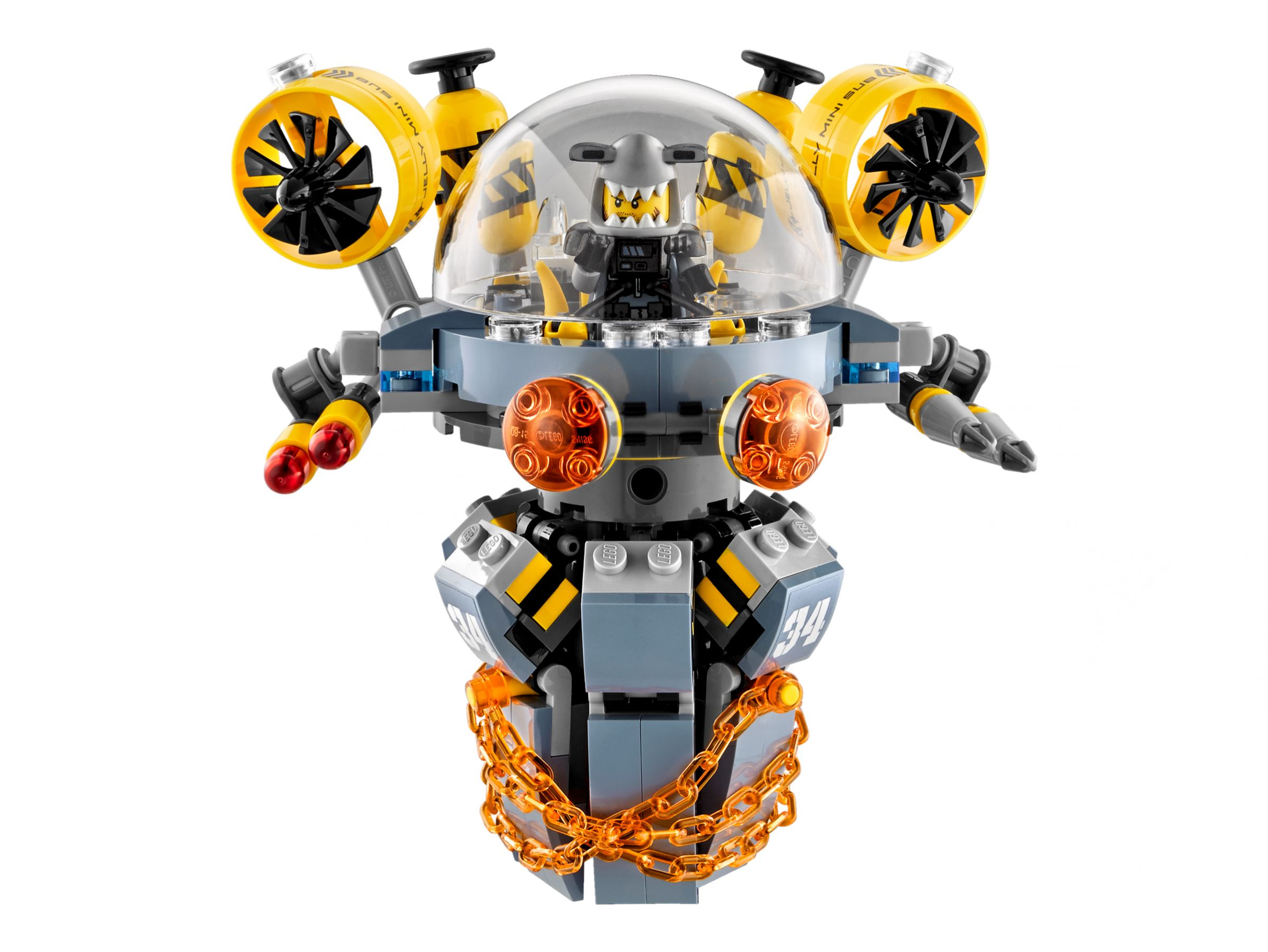 LEGO The LEGO Ninjago Movie 70610 Turbo Qualle LEGO_70610_alt3.jpg