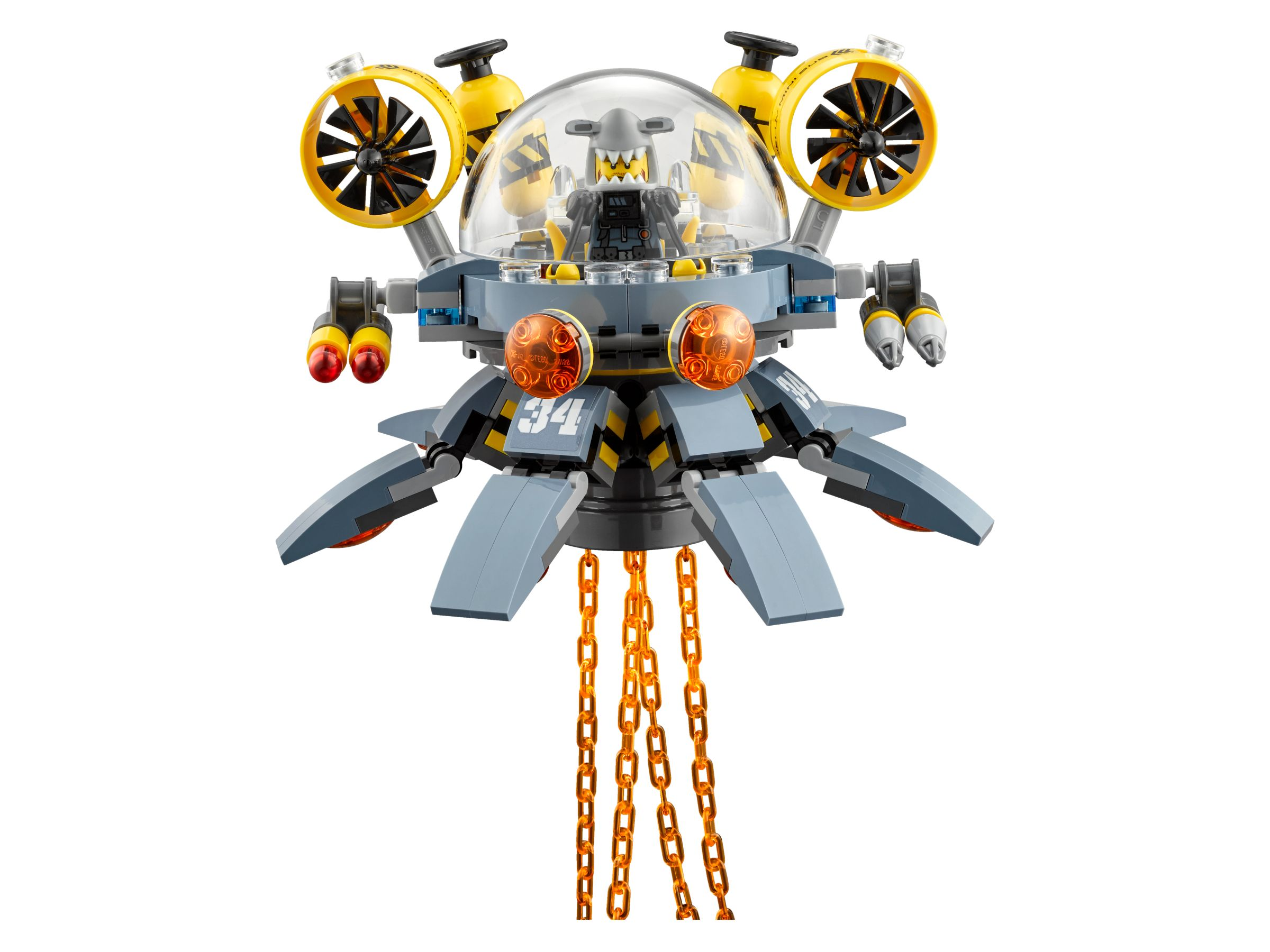 LEGO The LEGO Ninjago Movie 70610 Turbo Qualle LEGO_70610_alt4.jpg