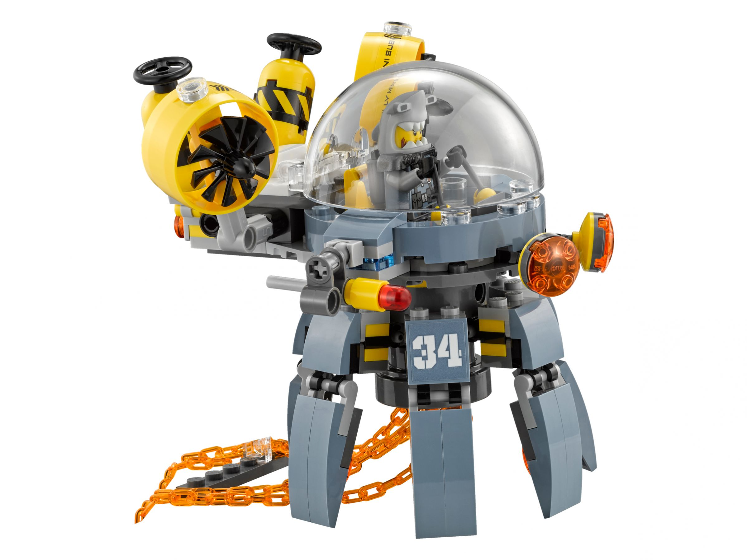 LEGO The LEGO Ninjago Movie 70610 Turbo Qualle LEGO_70610_alt6.jpg