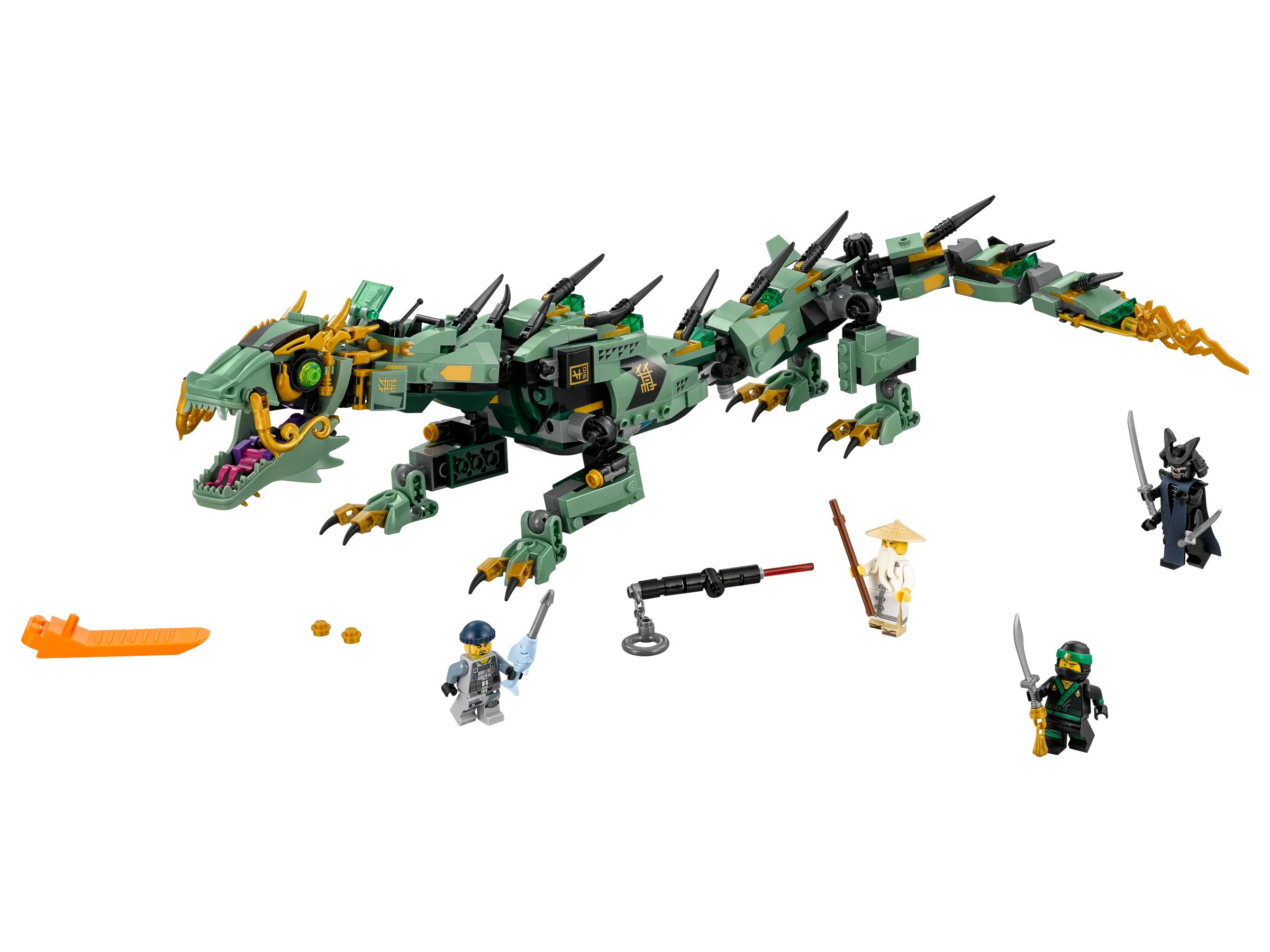 LEGO The LEGO Ninjago Movie 70612 Mech-Drache des Grünen Ninja