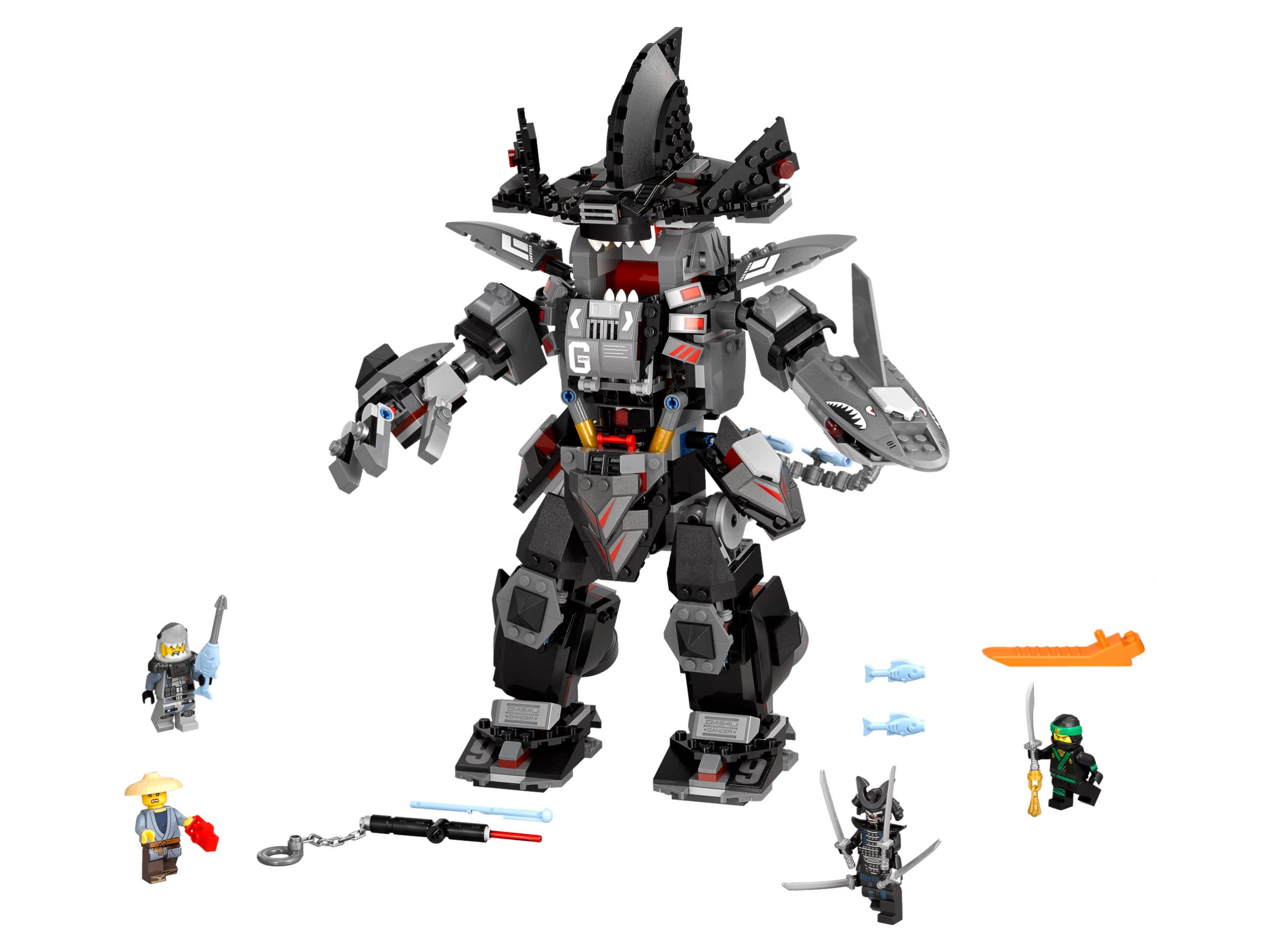 LEGO The LEGO Ninjago Movie 70613 Garmadon's Robo-Hai