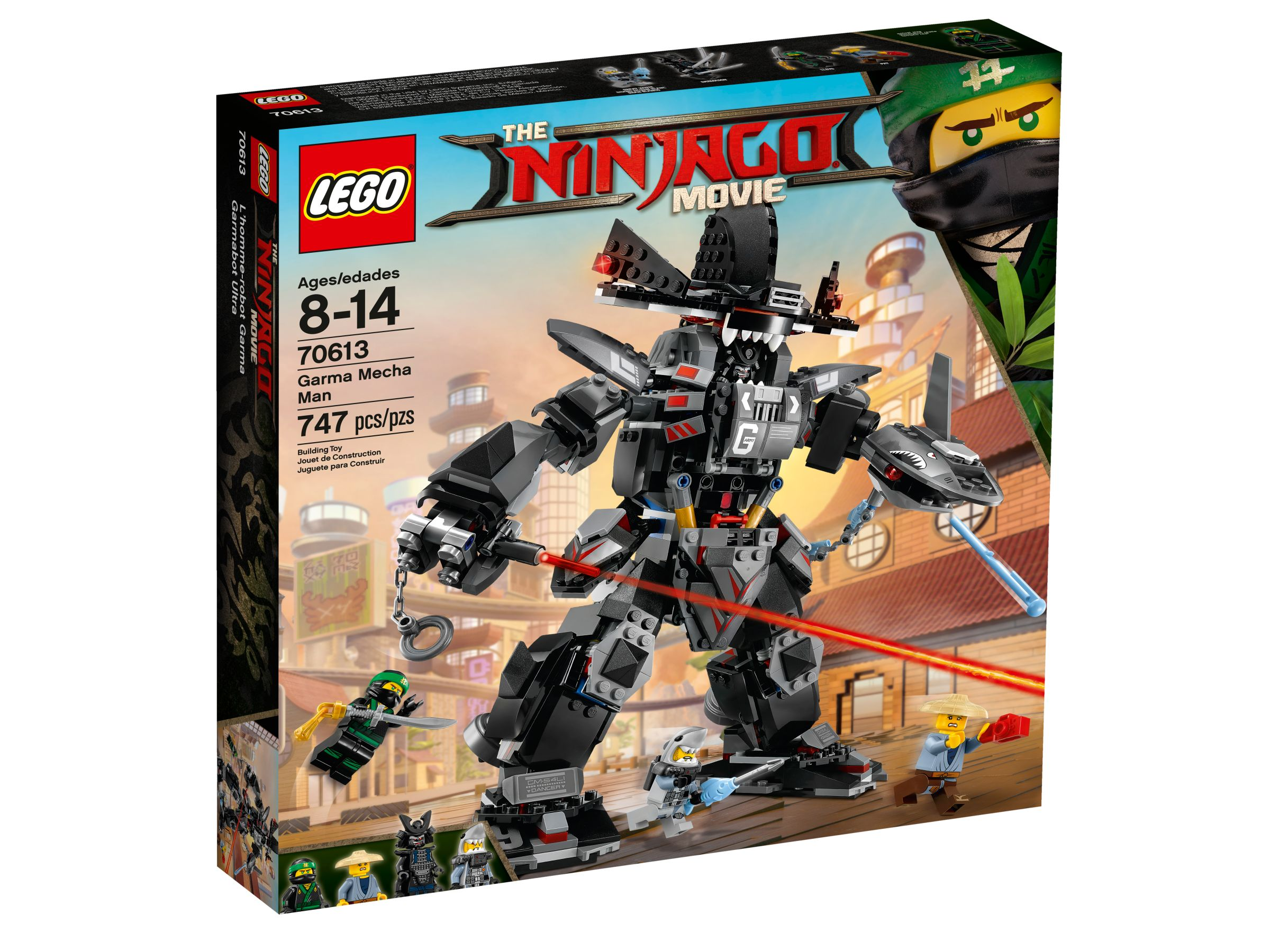 LEGO The LEGO Ninjago Movie 70613 Garmadon's Robo-Hai LEGO_70613_alt1.jpg