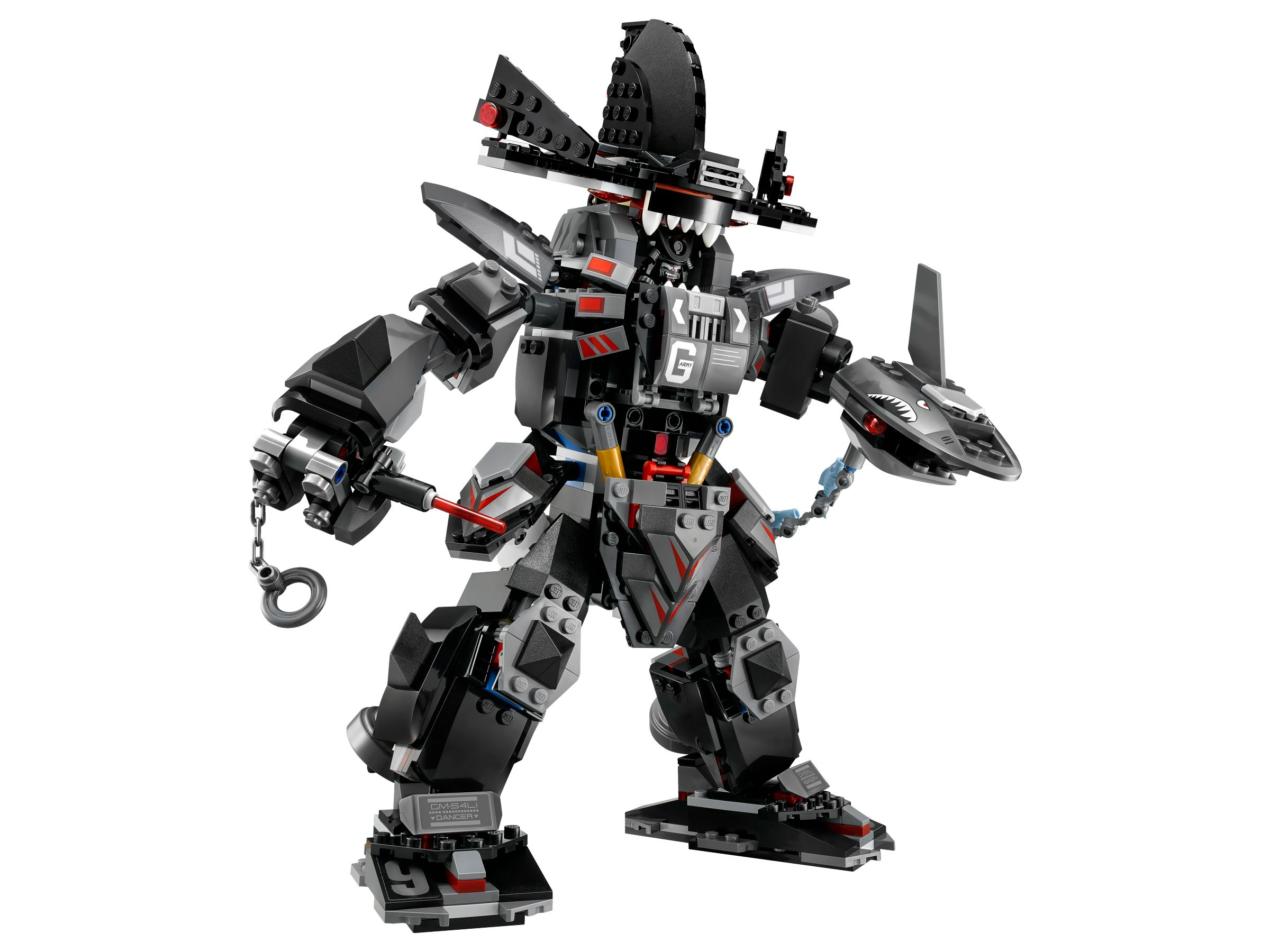 LEGO The LEGO Ninjago Movie 70613 Garmadon's Robo-Hai LEGO_70613_alt2.jpg