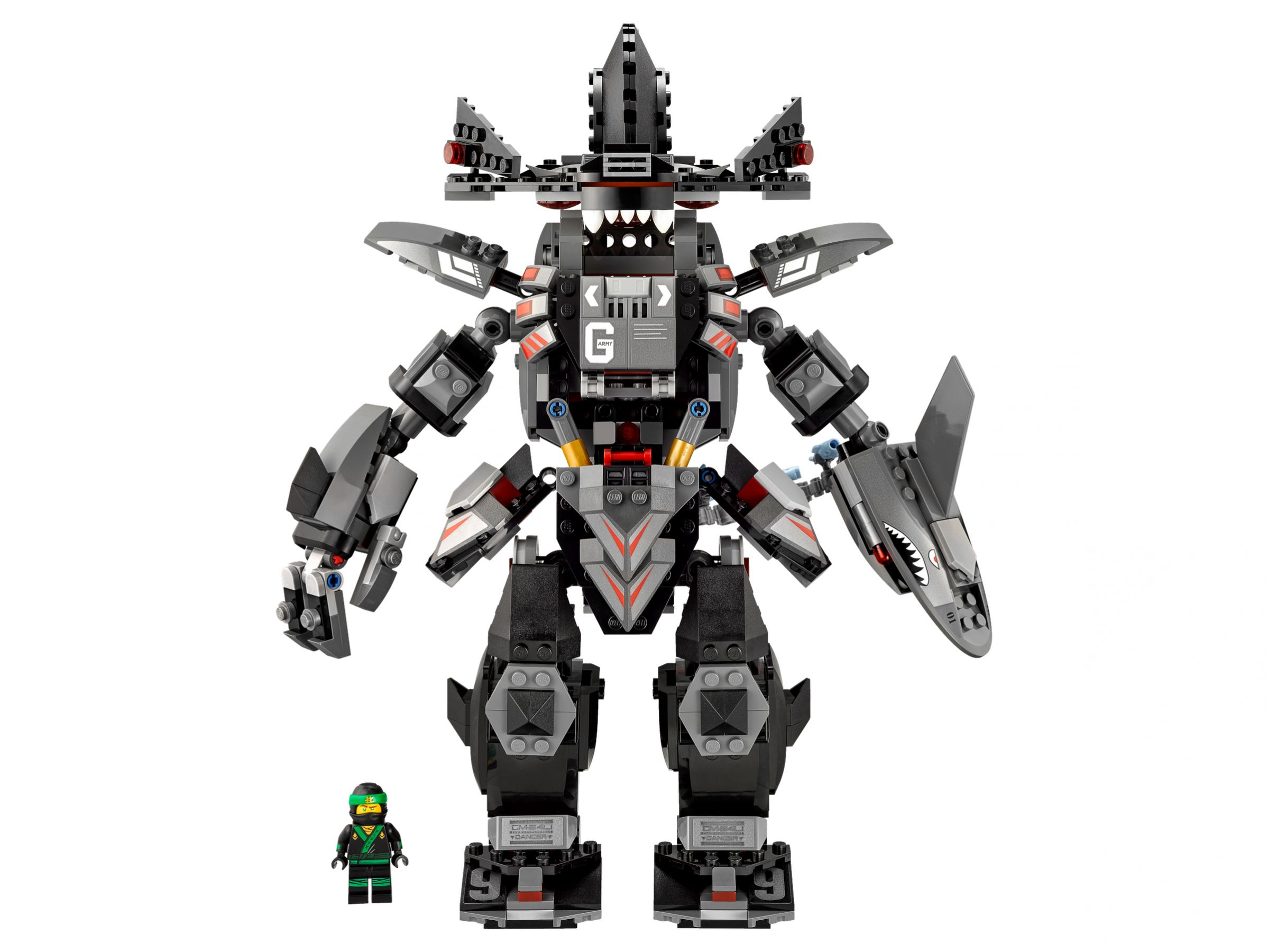 LEGO The LEGO Ninjago Movie 70613 Garmadon's Robo-Hai LEGO_70613_alt8.jpg