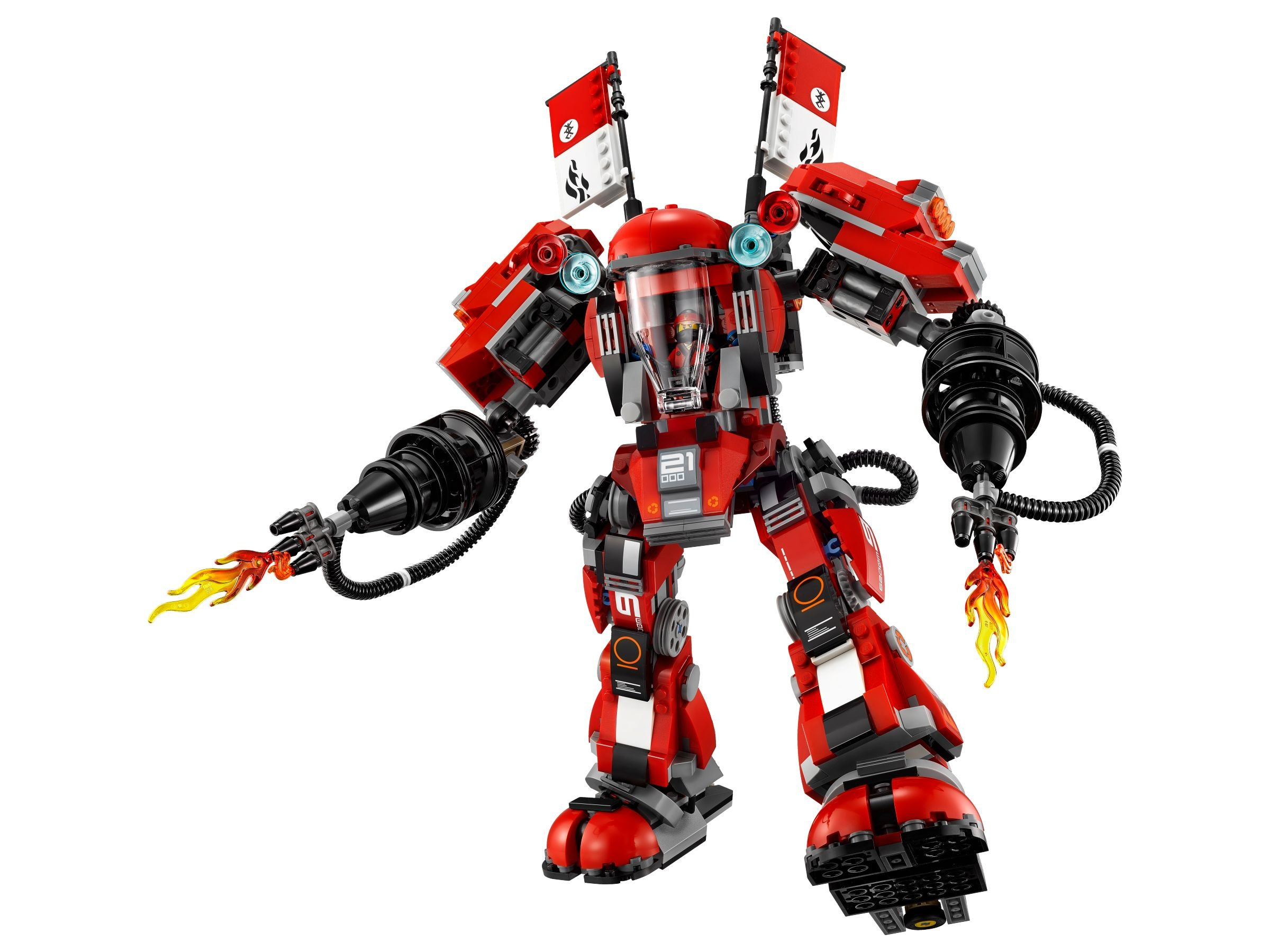 LEGO The LEGO Ninjago Movie 70615 Kai's Feuer-Mech LEGO_70615_alt2.jpg
