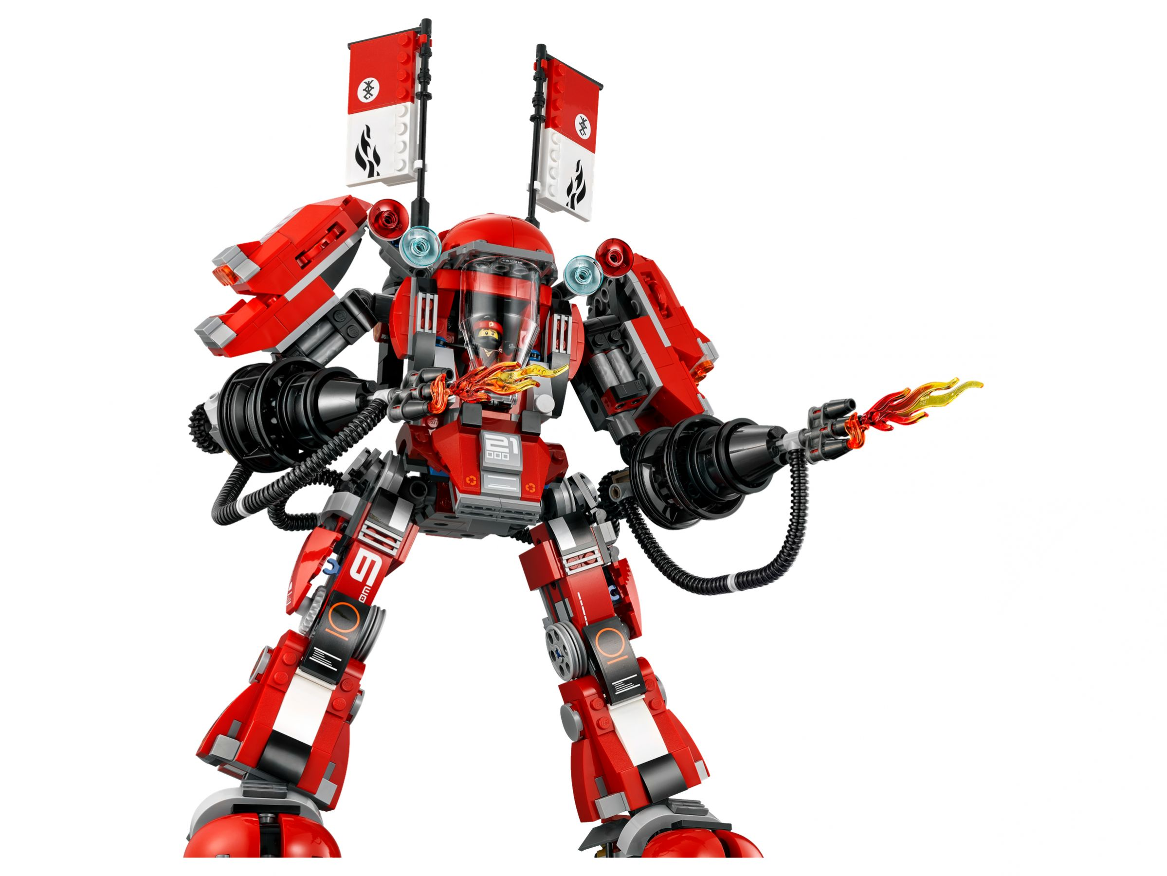 LEGO The LEGO Ninjago Movie 70615 Kai's Feuer-Mech LEGO_70615_alt3.jpg