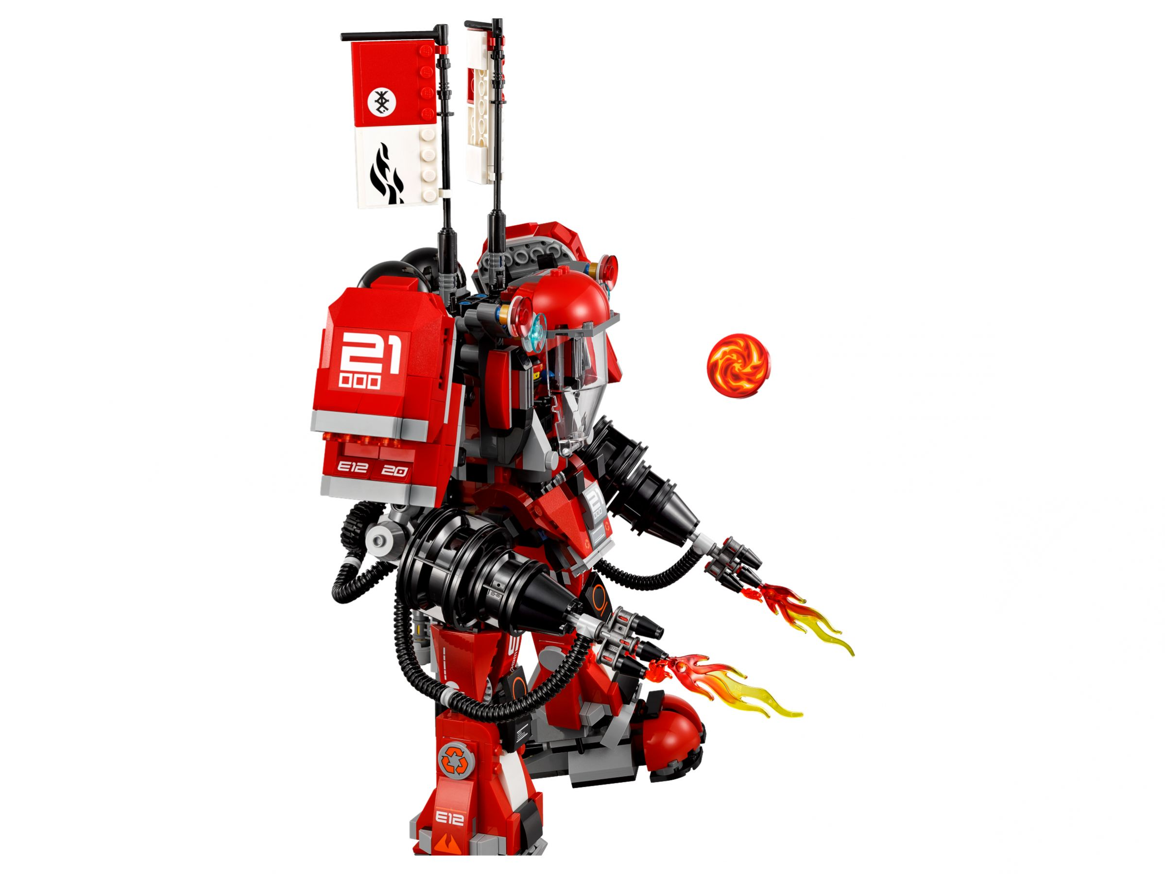 LEGO The LEGO Ninjago Movie 70615 Kai's Feuer-Mech LEGO_70615_alt4.jpg
