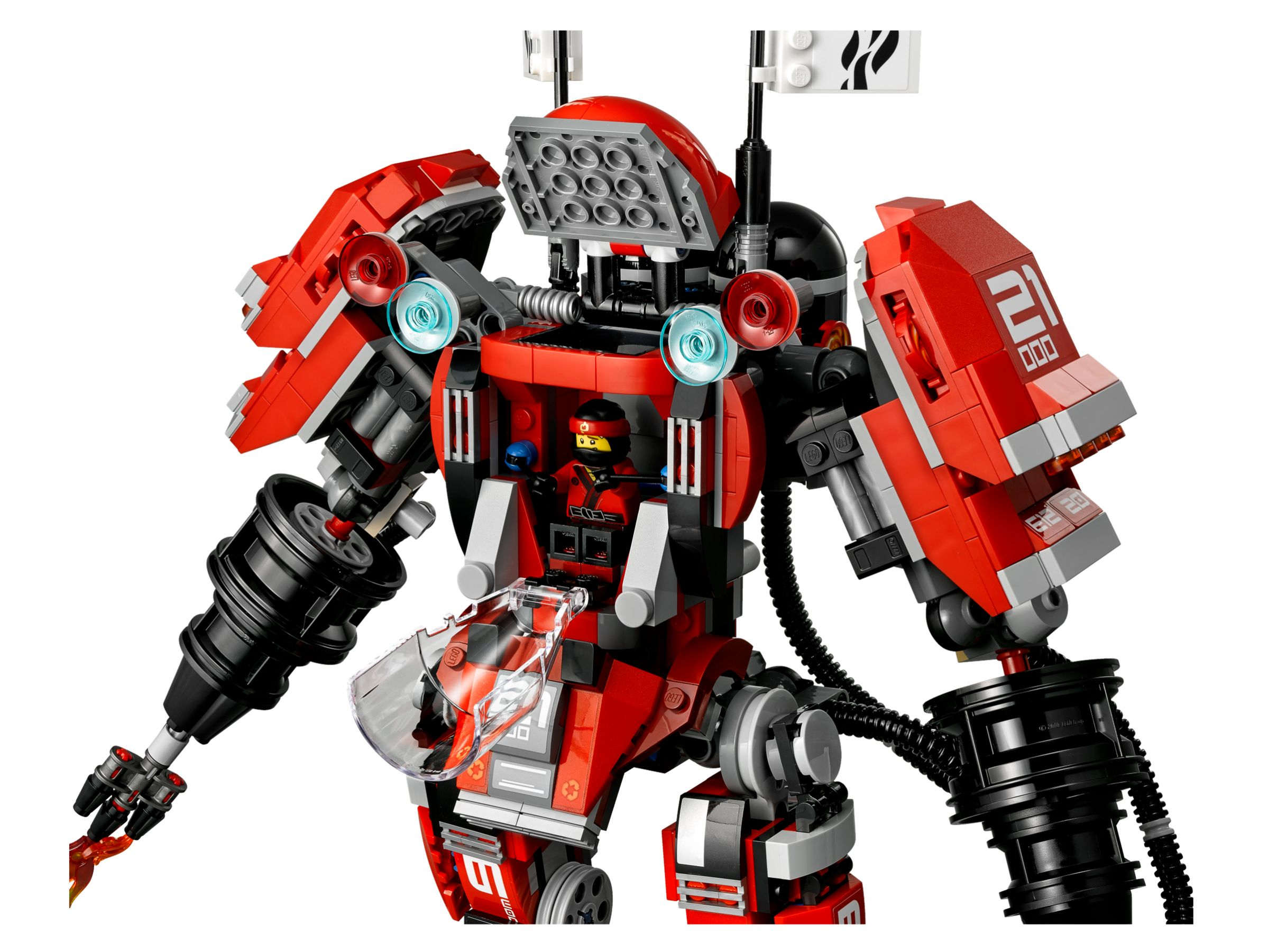 LEGO The LEGO Ninjago Movie 70615 Kai's Feuer-Mech LEGO_70615_alt5.jpg