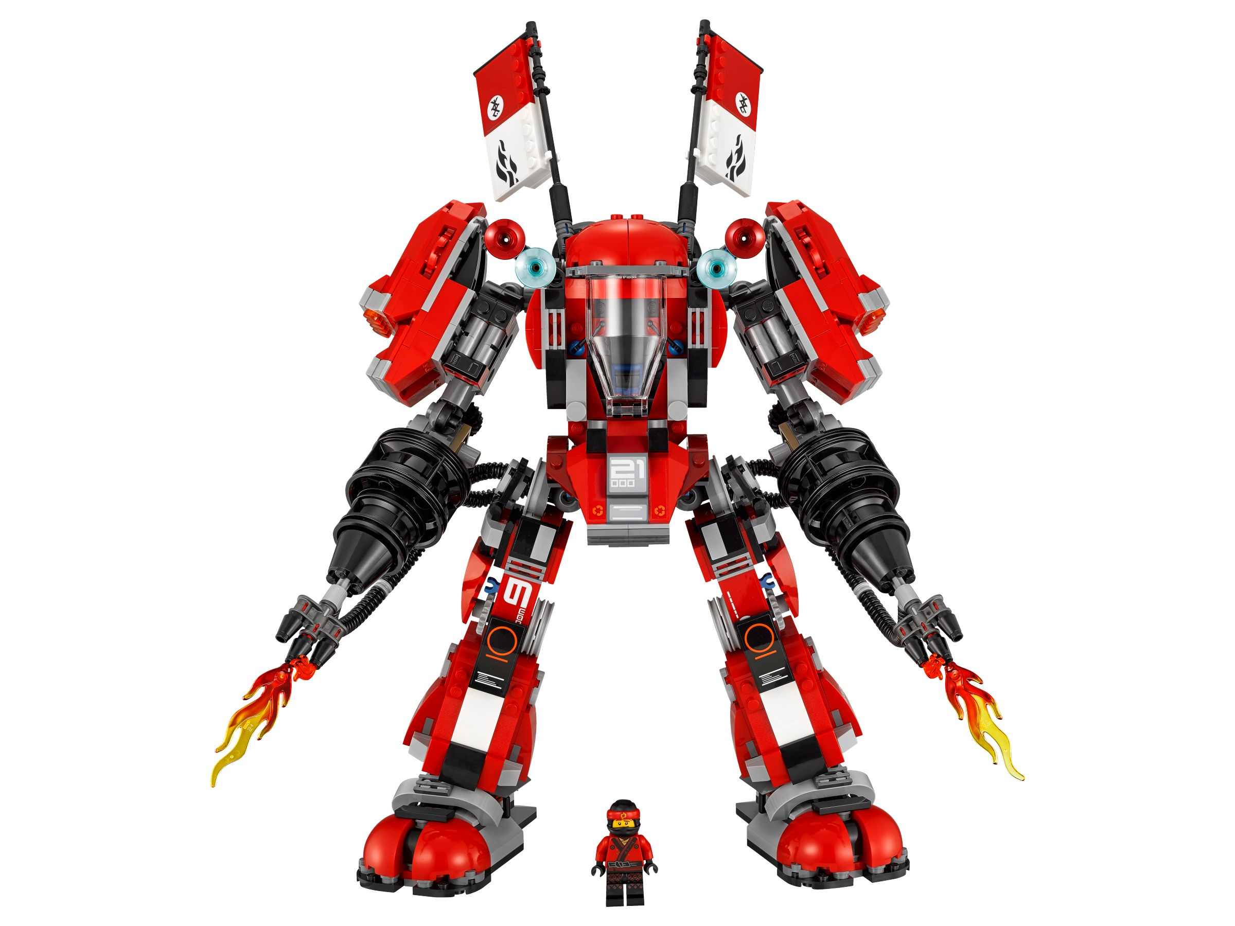 LEGO The LEGO Ninjago Movie 70615 Kai's Feuer-Mech LEGO_70615_alt6.jpg