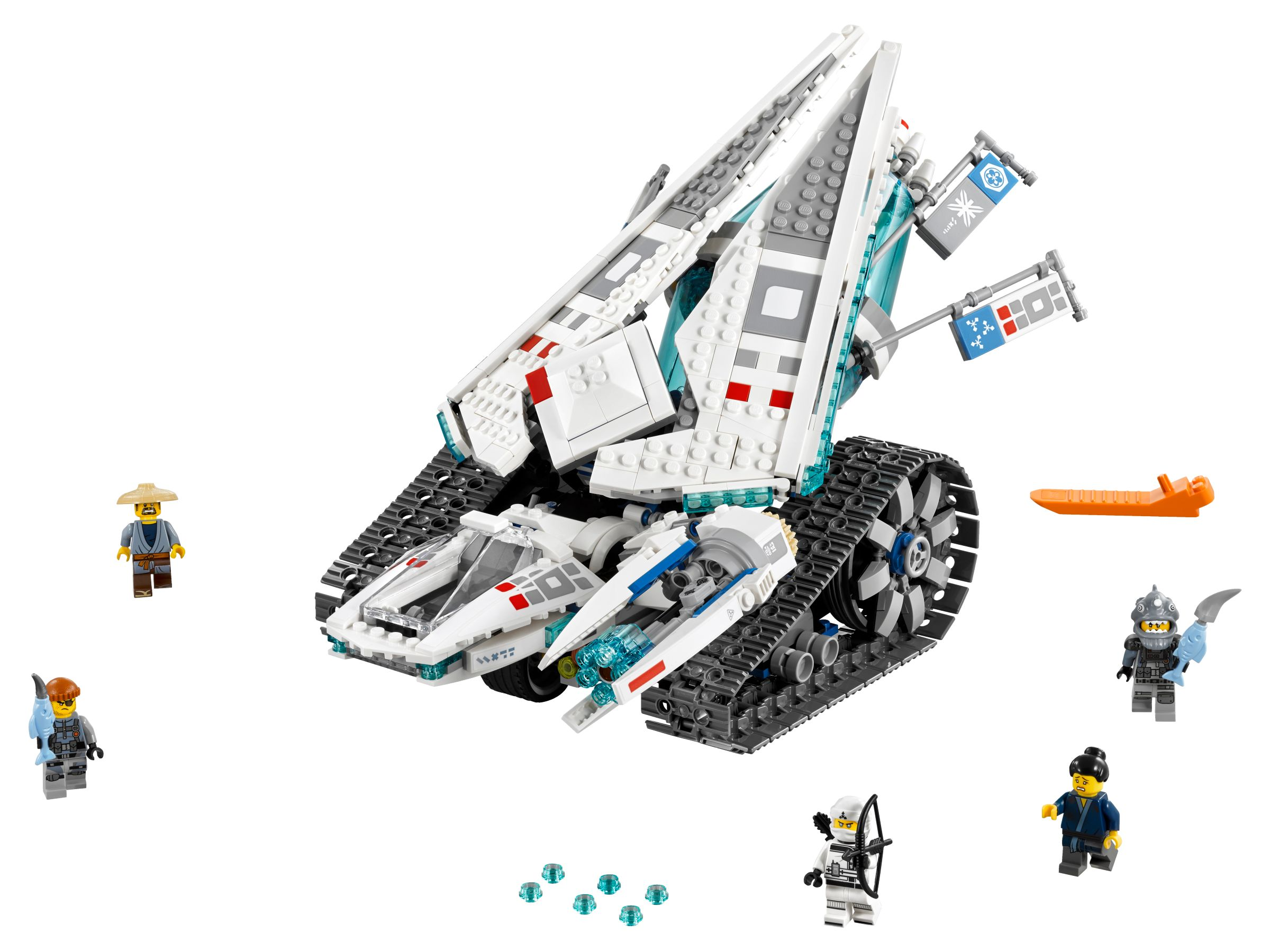 LEGO The LEGO Ninjago Movie 70616 Zane's Eis-Raupe