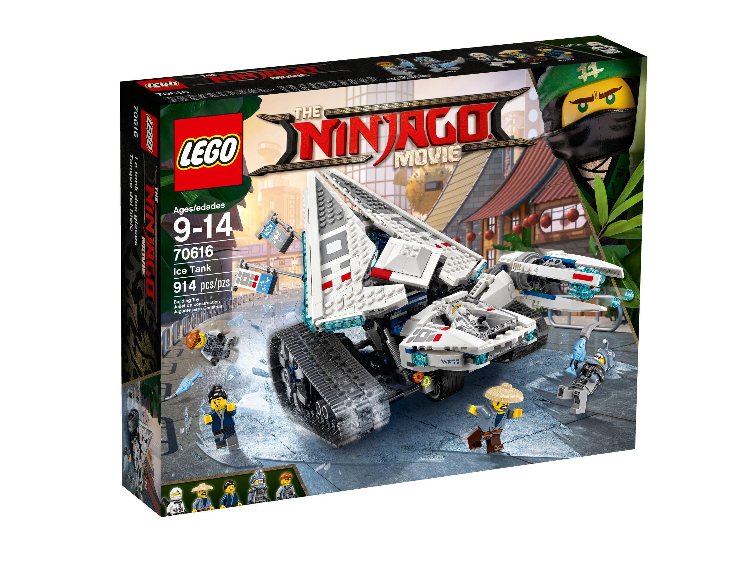 LEGO The LEGO Ninjago Movie 70616 Zane's Eis-Raupe LEGO_70616_alt1.jpg