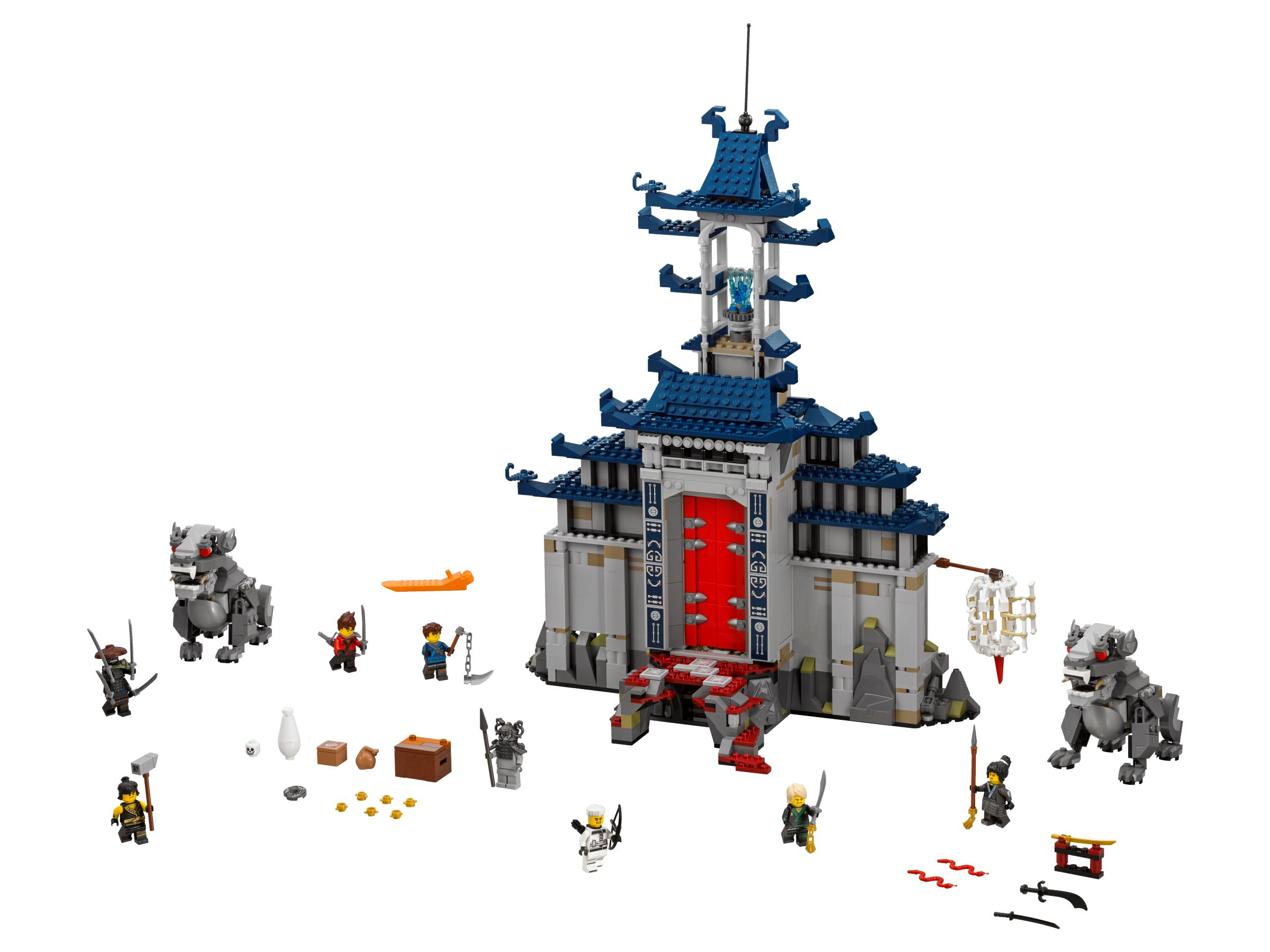 LEGO The LEGO Ninjago Movie 70617 Ultimativ ultimatives Tempel-Versteck