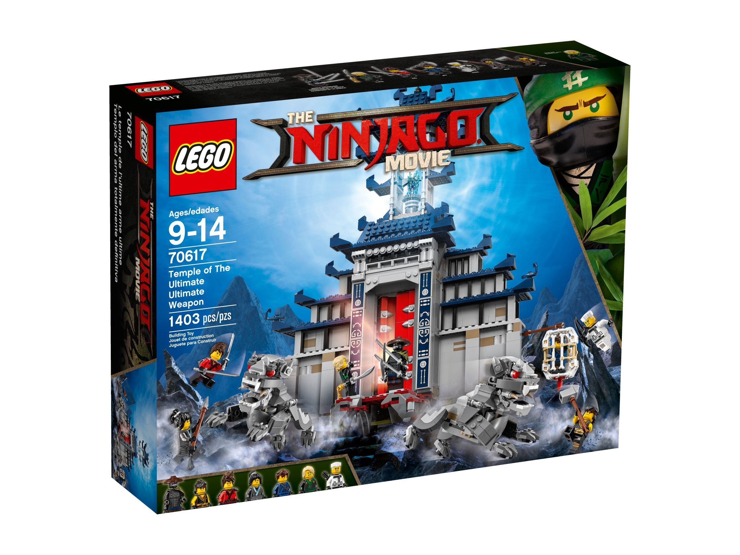 LEGO The LEGO Ninjago Movie 70617 Ultimativ ultimatives Tempel-Versteck LEGO_70617_alt1.jpg