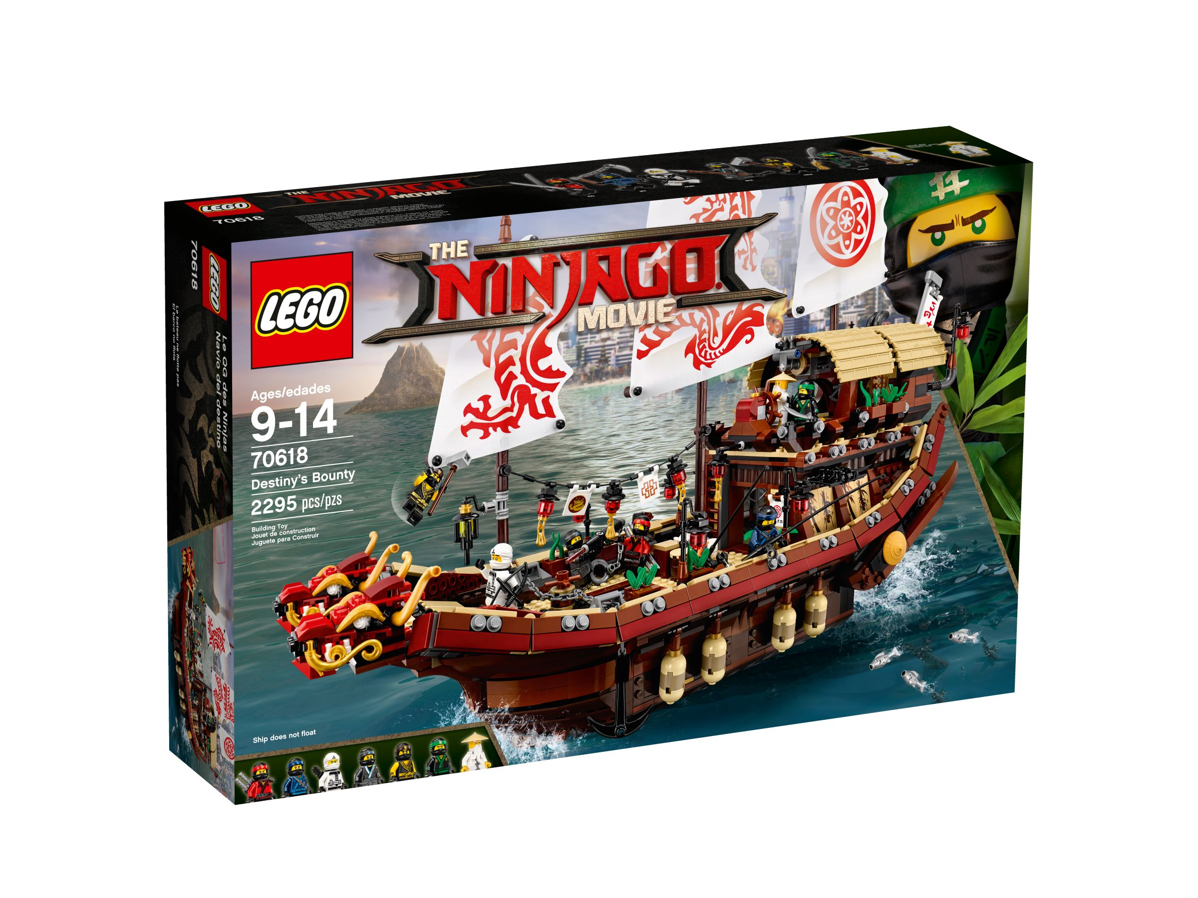 LEGO The LEGO Ninjago Movie 70618 Ninja-Flugsegler LEGO_70618_alt1.jpg