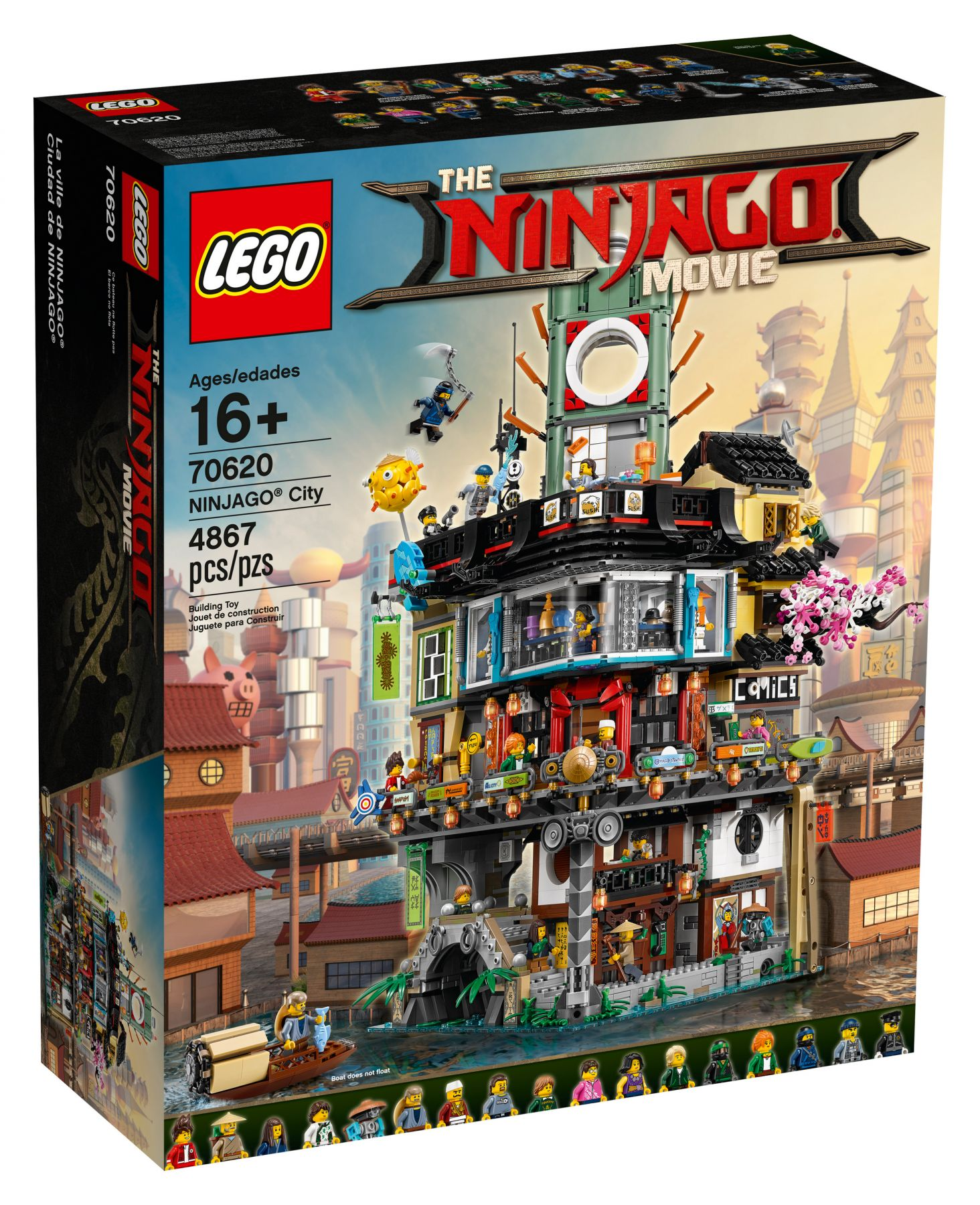 LEGO The LEGO Ninjago Movie 70620 Ninjago City LEGO_70620_alt1.jpg